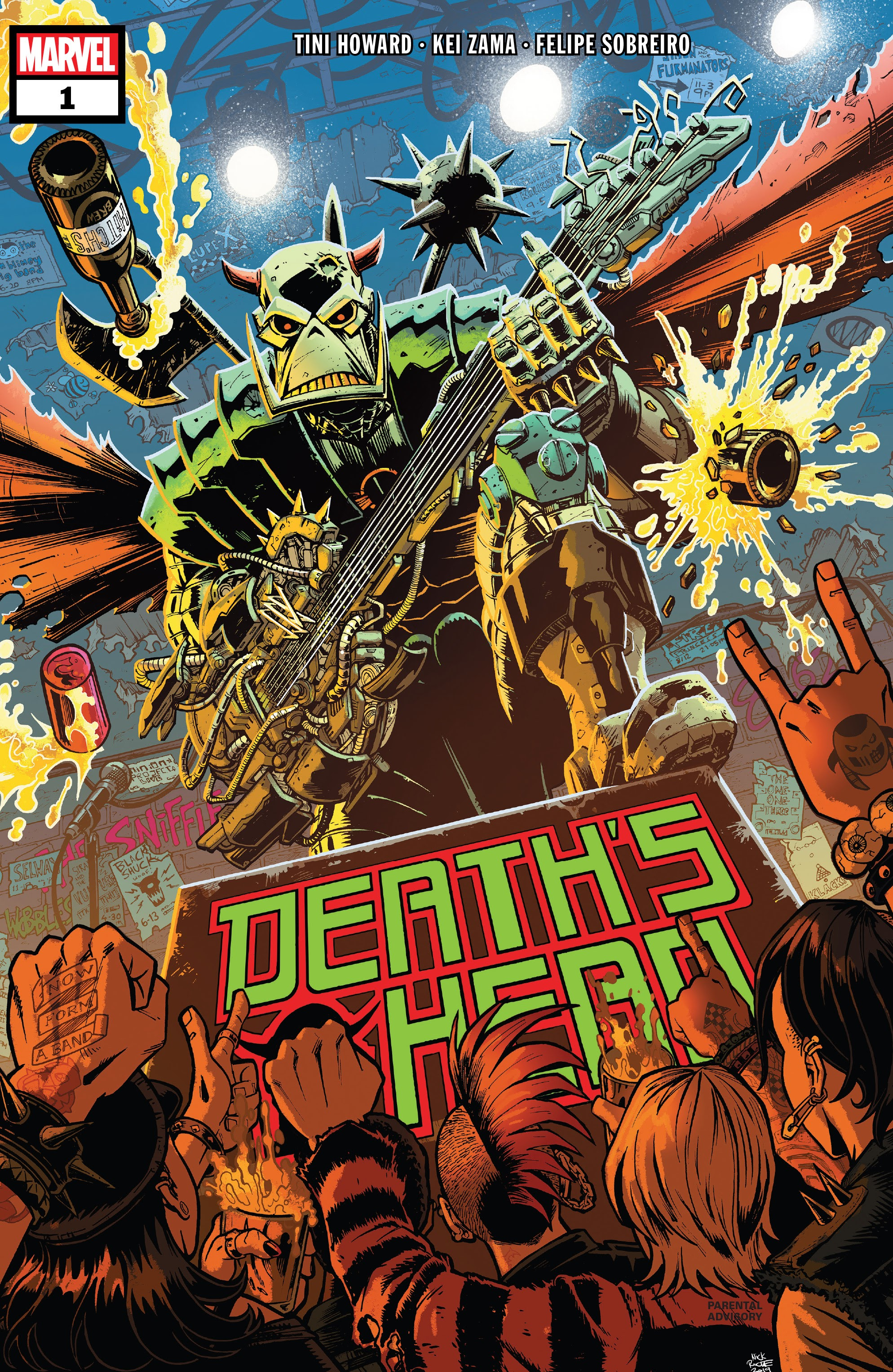 Death's Head (2019) issue 1 - Page 1