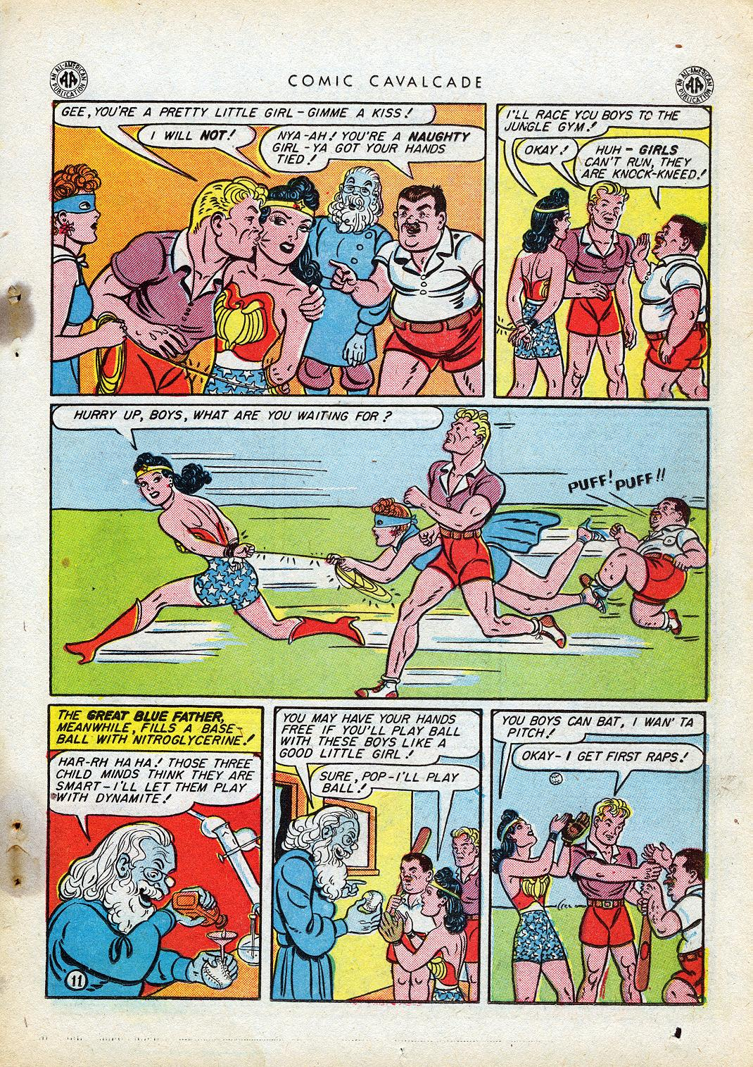 Comic Cavalcade issue 10 - Page 13