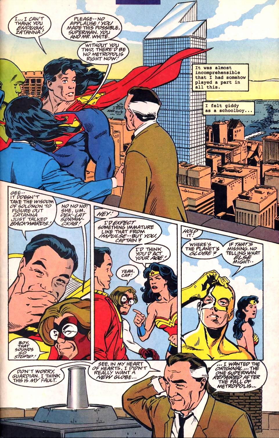 Read online Adventures of Superman (1987) comic -  Issue #522 - 22