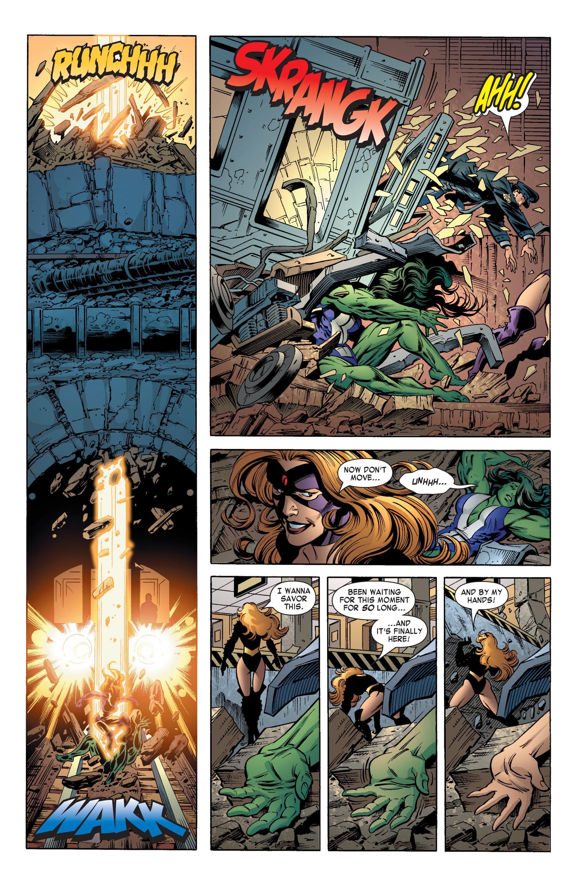 Read online She-Hulk (2004) comic -  Issue #11 - 22