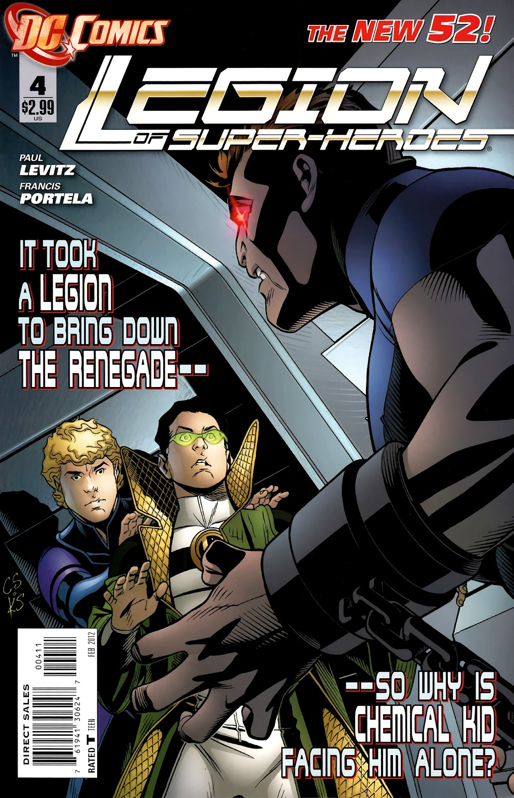 Legion of Super-Heroes (2011) issue 4 - Page 1