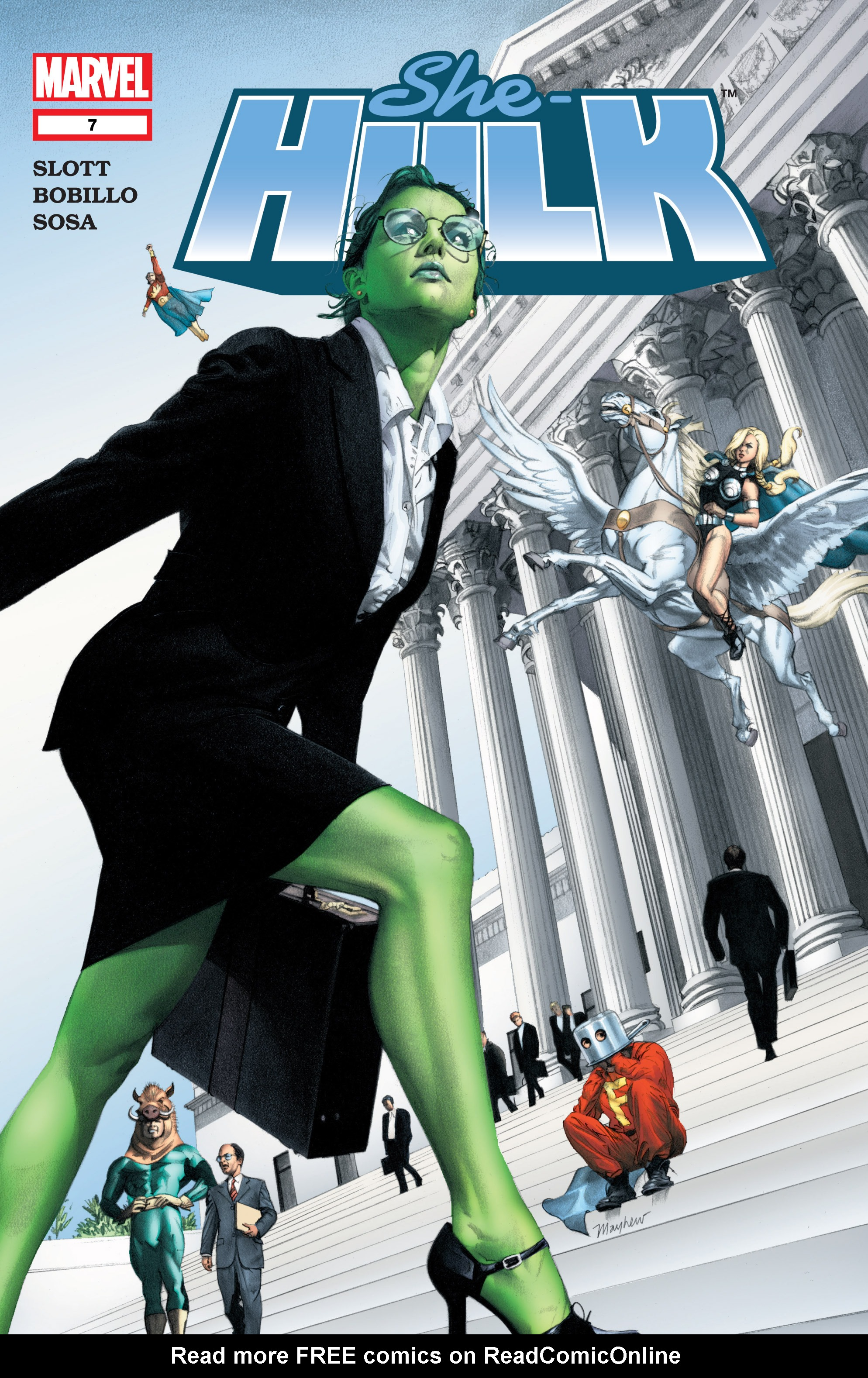 Read online She-Hulk (2004) comic -  Issue #7 - 1