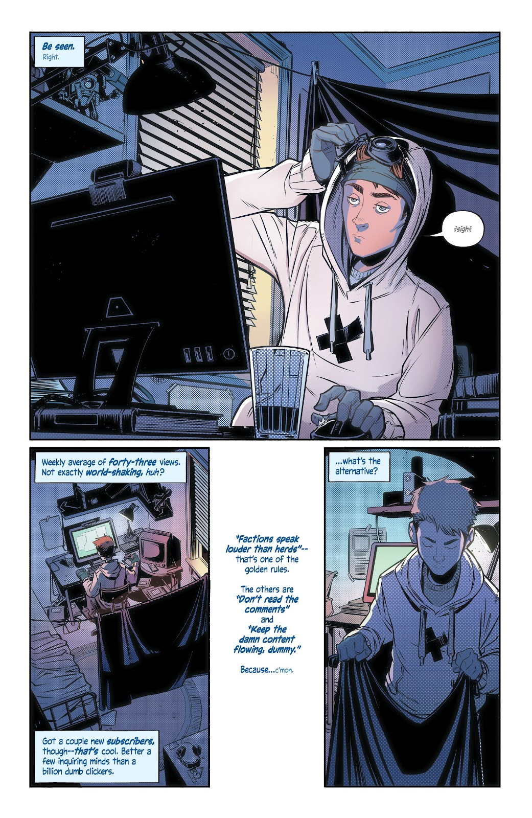 Read online Alienated comic -  Issue #1 - 4
