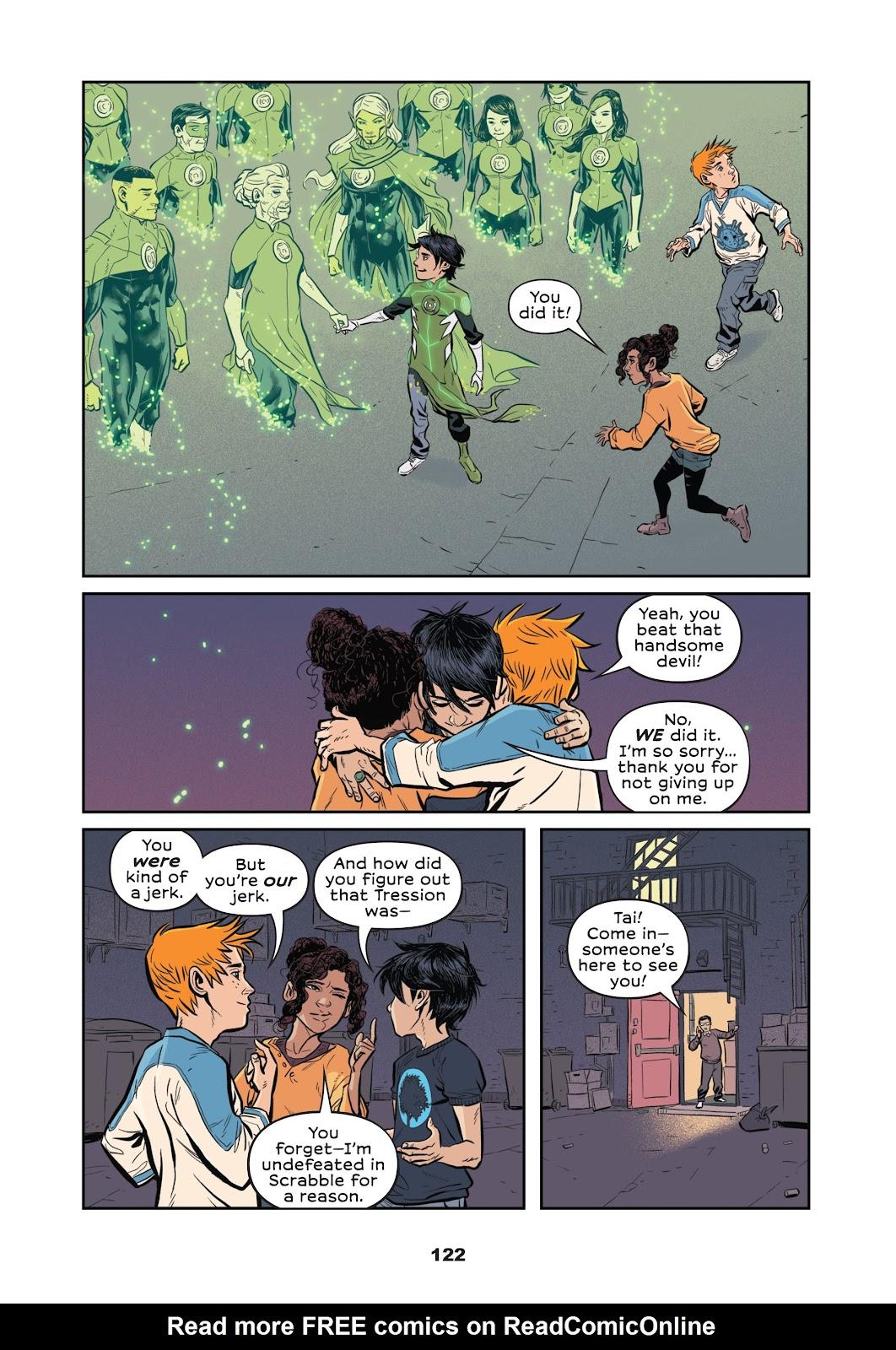Read online Green Lantern: Legacy comic -  Issue # TPB - 120