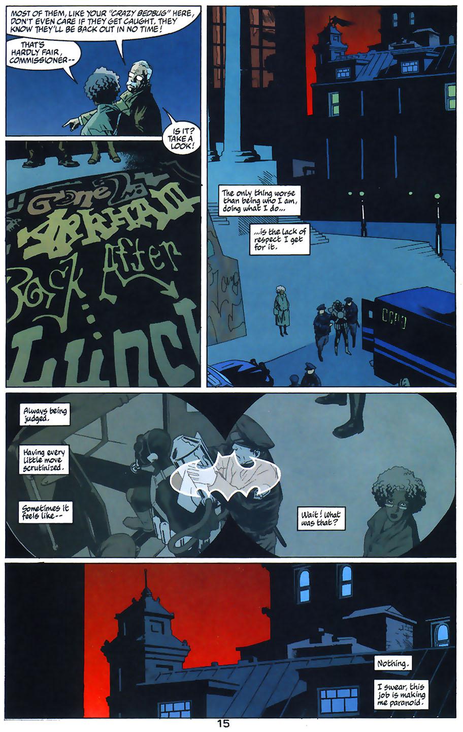 Read online Arkham Asylum: Living Hell comic -  Issue #1 - 17