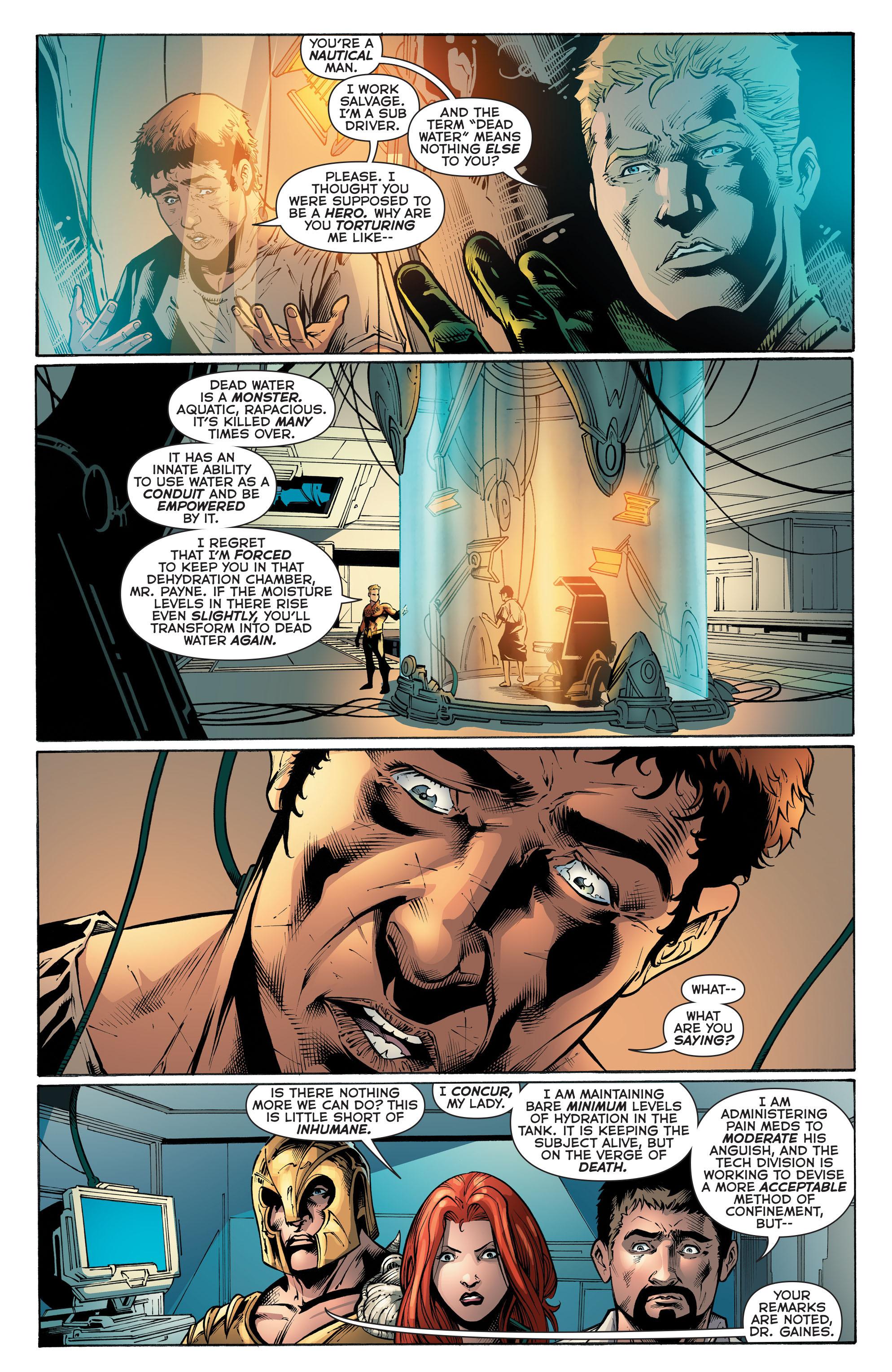 Read online Aquaman (2011) comic -  Issue #51 - 8