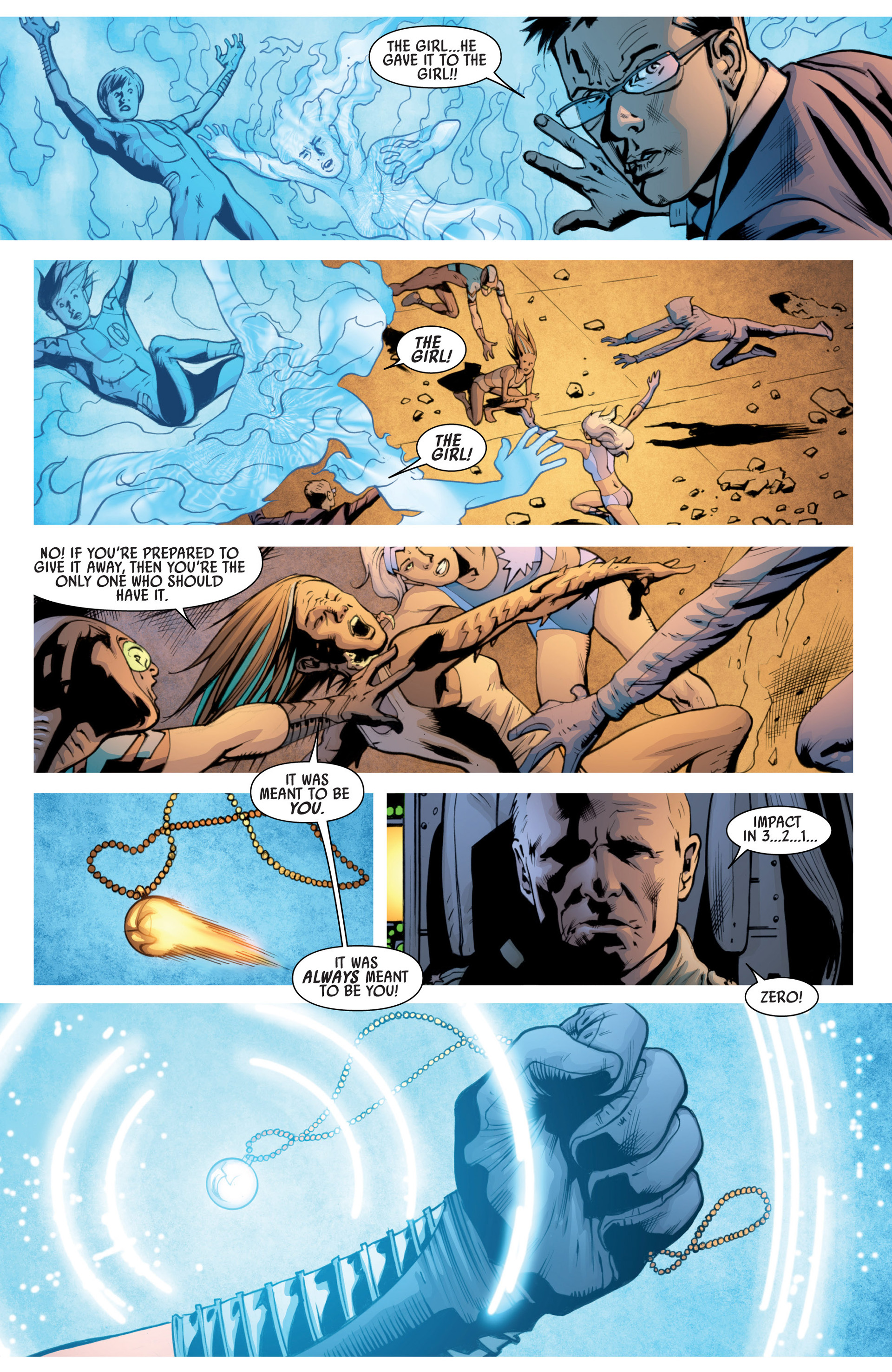 Read online America's Got Powers comic -  Issue #7 - 18