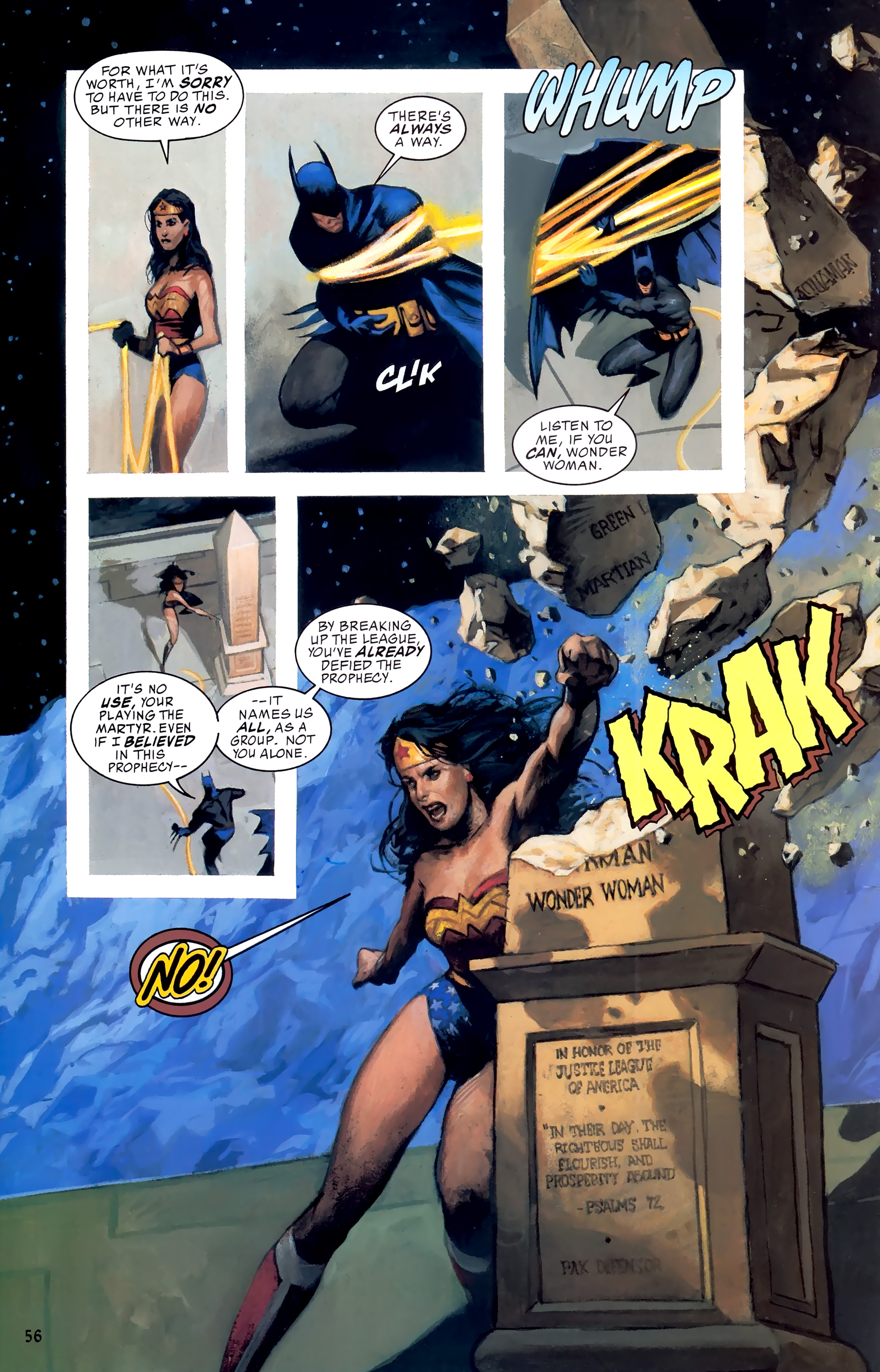Read online JLA: A League of One comic -  Issue # Full - 63