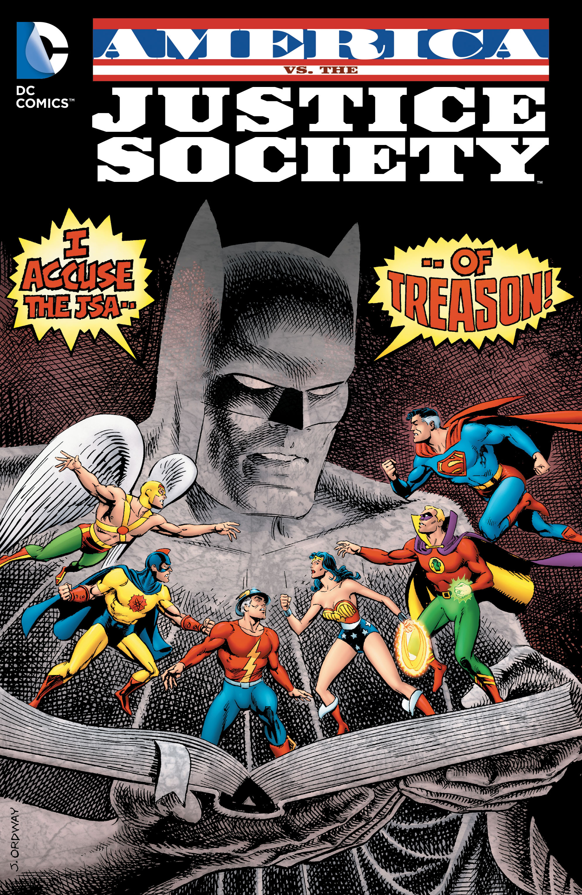 America vs. the Justice Society TPB Page 1