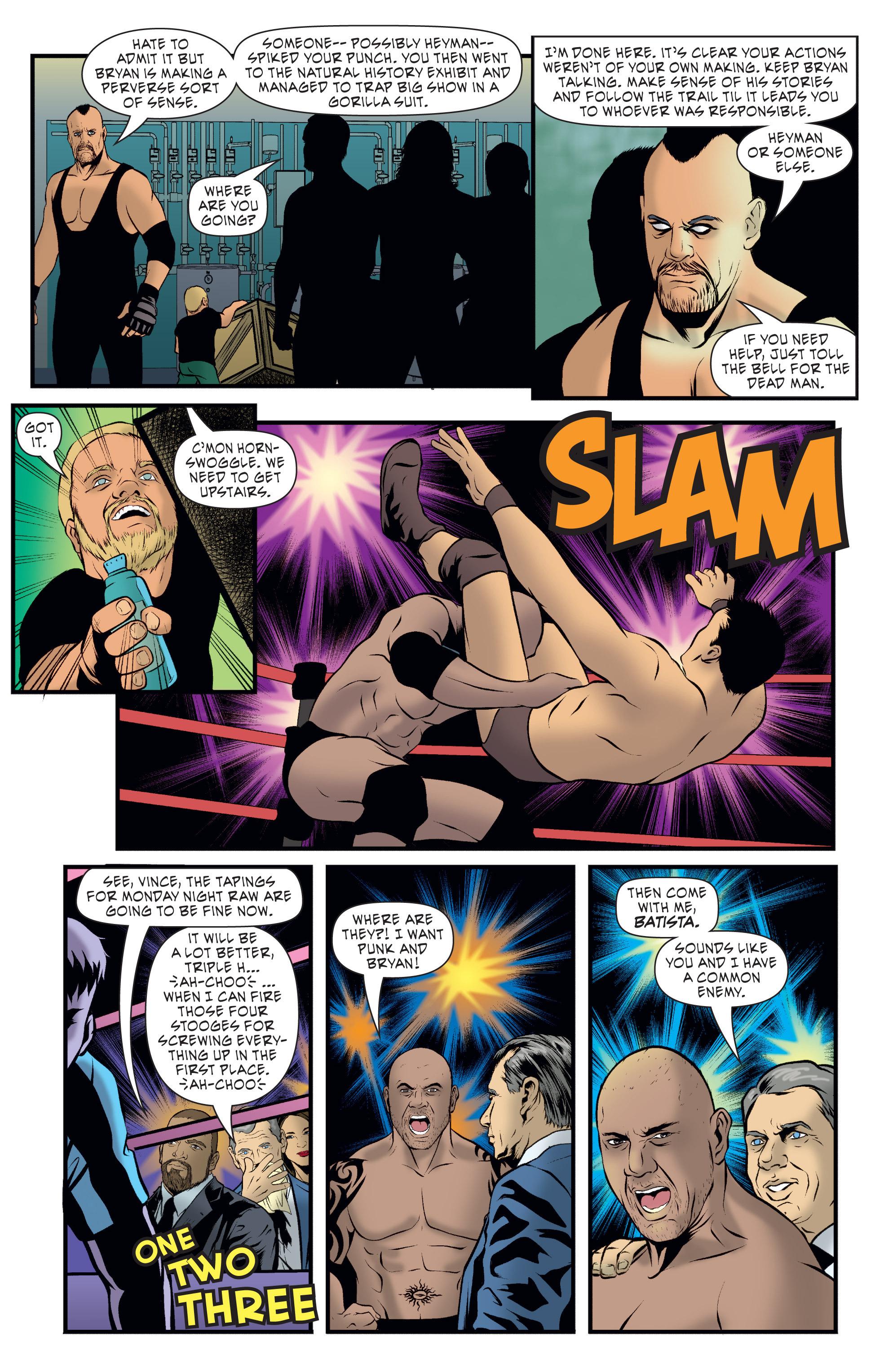 Read online WWE Superstars comic -  Issue #7 - 15