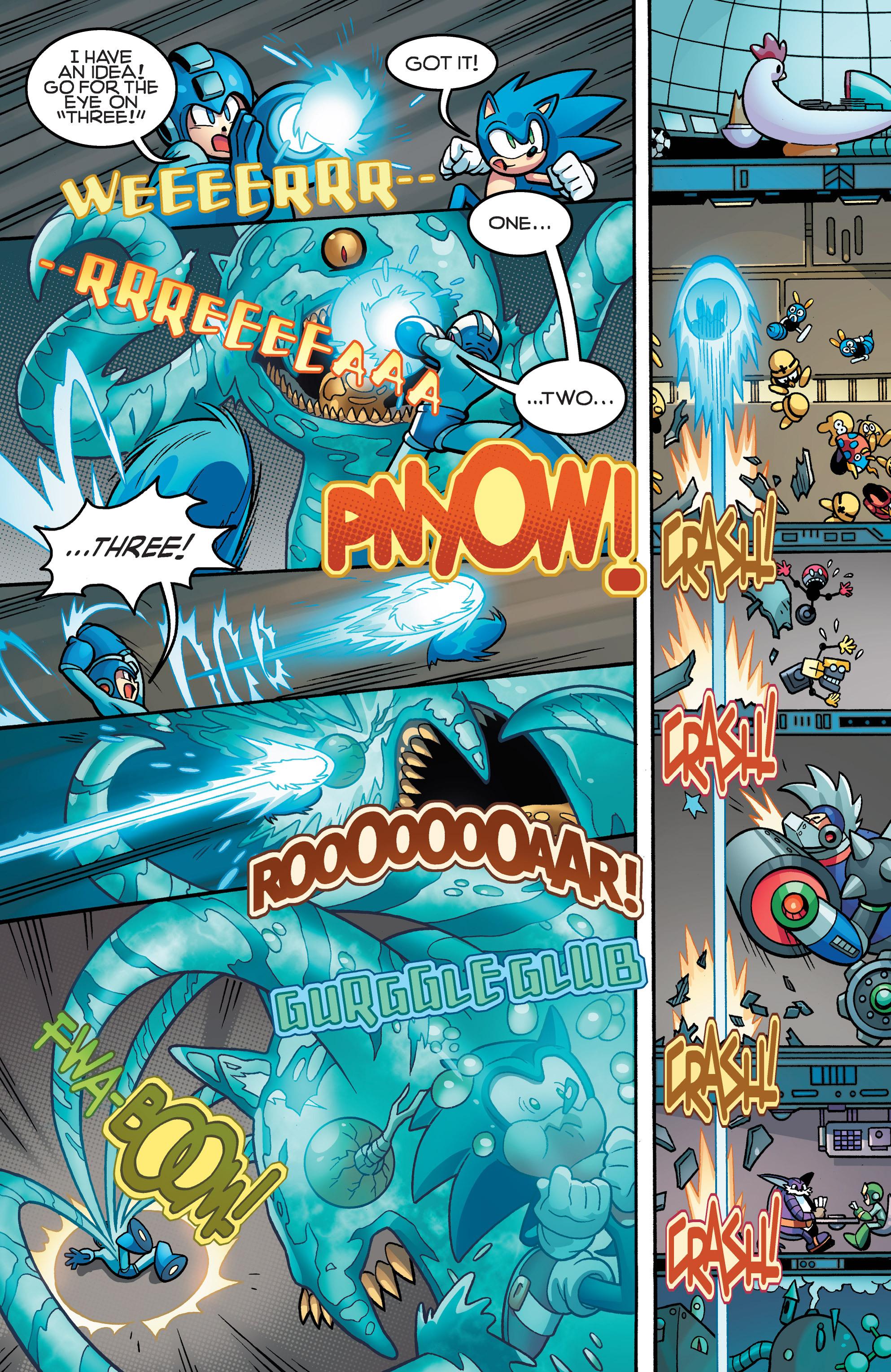 Read online Sonic Mega Man Worlds Collide comic -  Issue # Vol 3 - 64