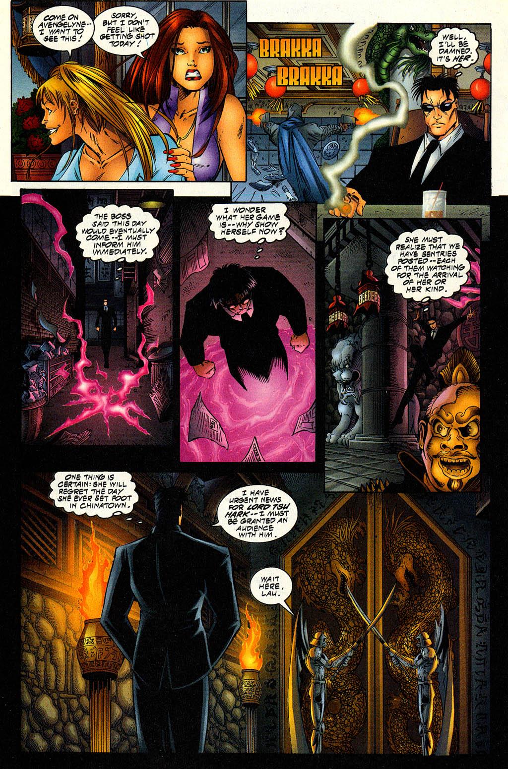 Read online Avengelyne (1996) comic -  Issue #6 - 10