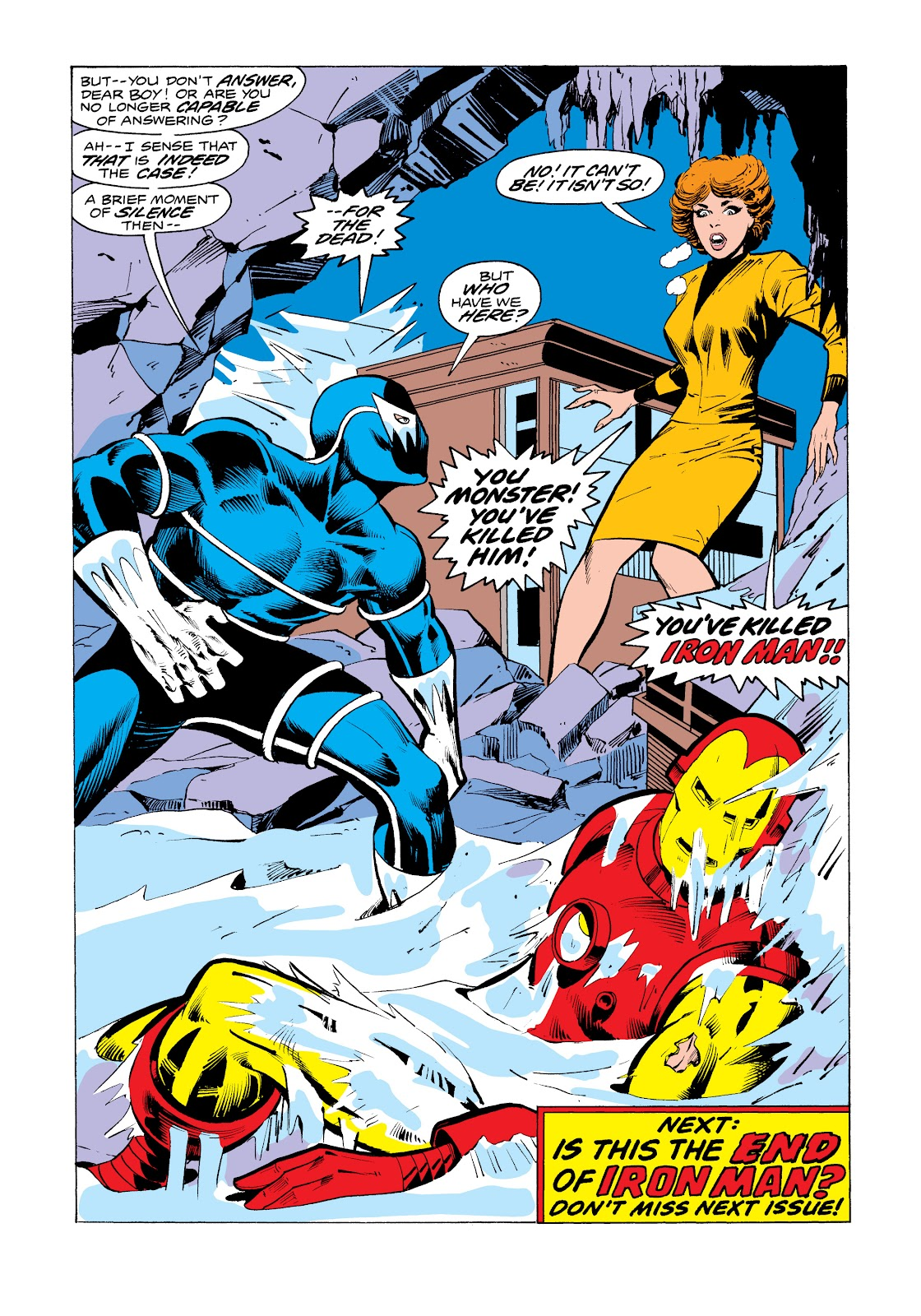 Read online Marvel Masterworks: The Invincible Iron Man comic -  Issue # TPB 11 (Part 2) - 2