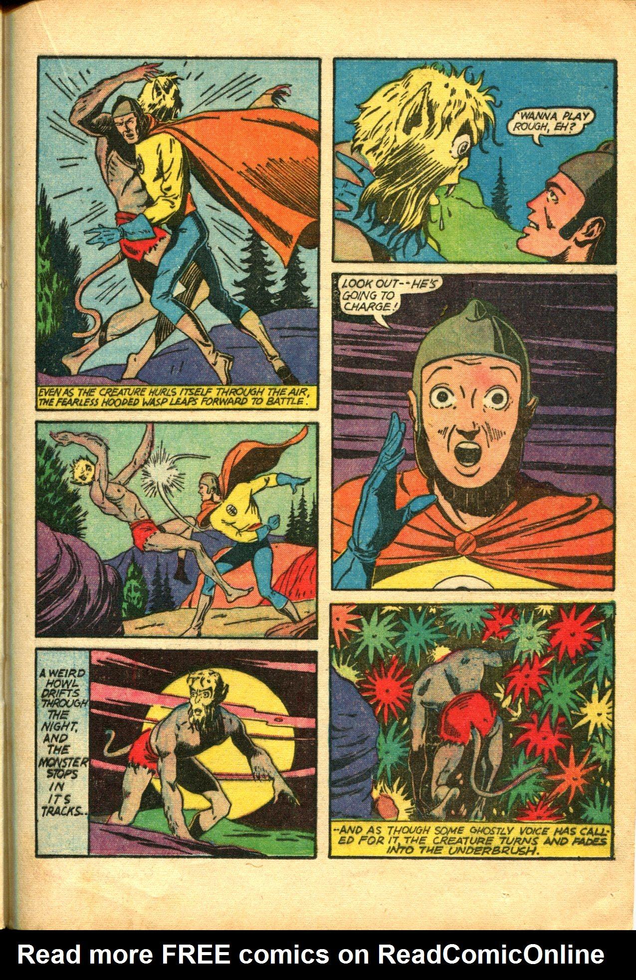 Read online Shadow Comics comic -  Issue #10 - 41