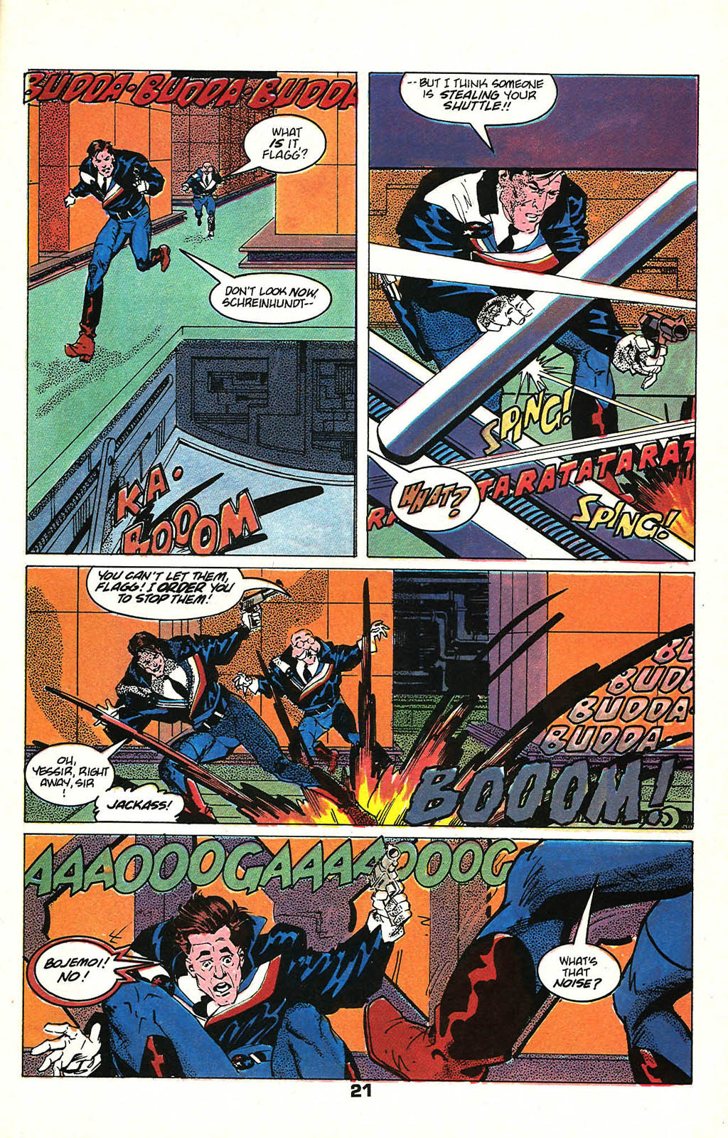 Read online American Flagg! comic -  Issue #48 - 27