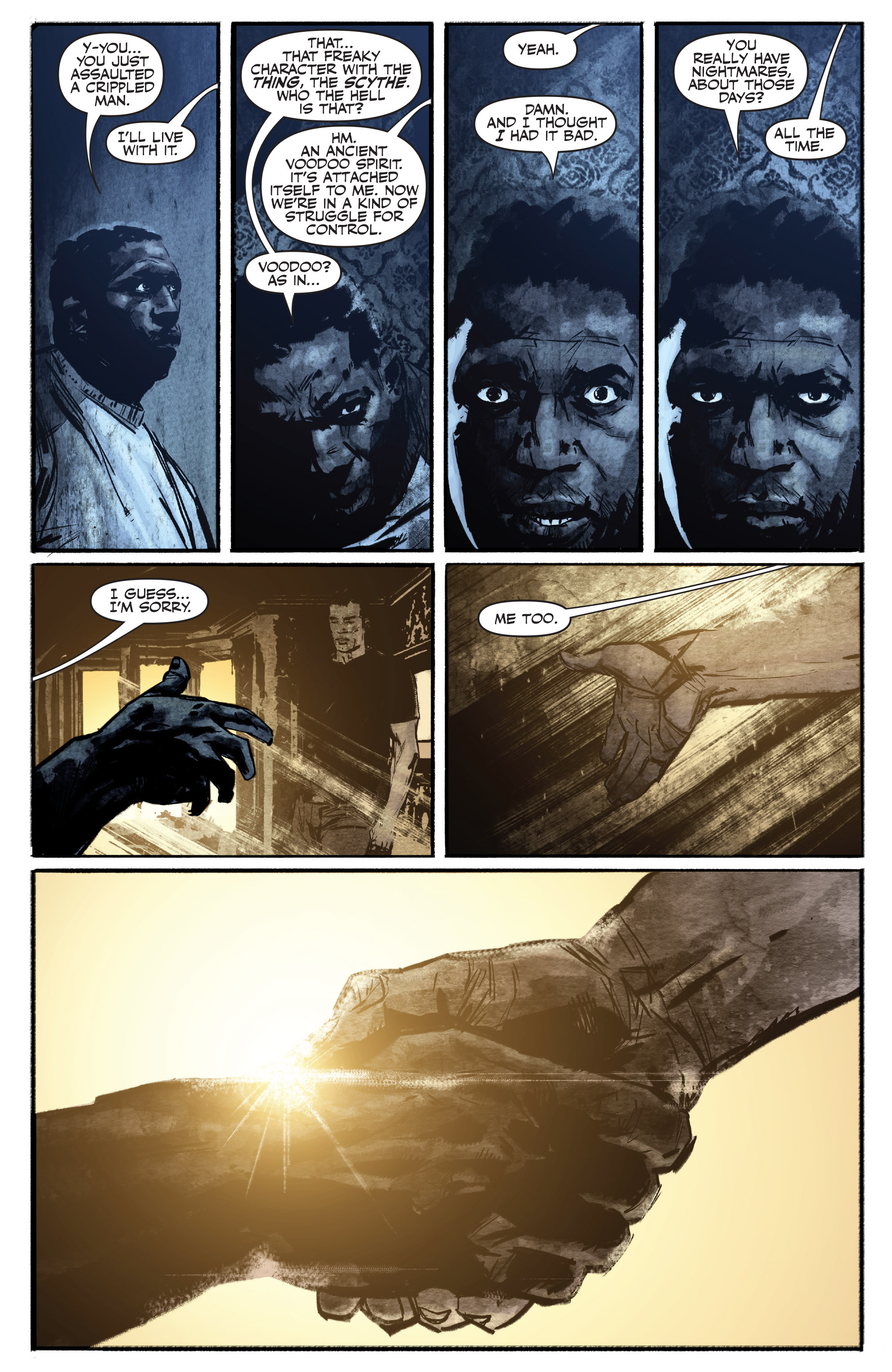 Read online Shadowman (2012) comic -  Issue #16 - 14