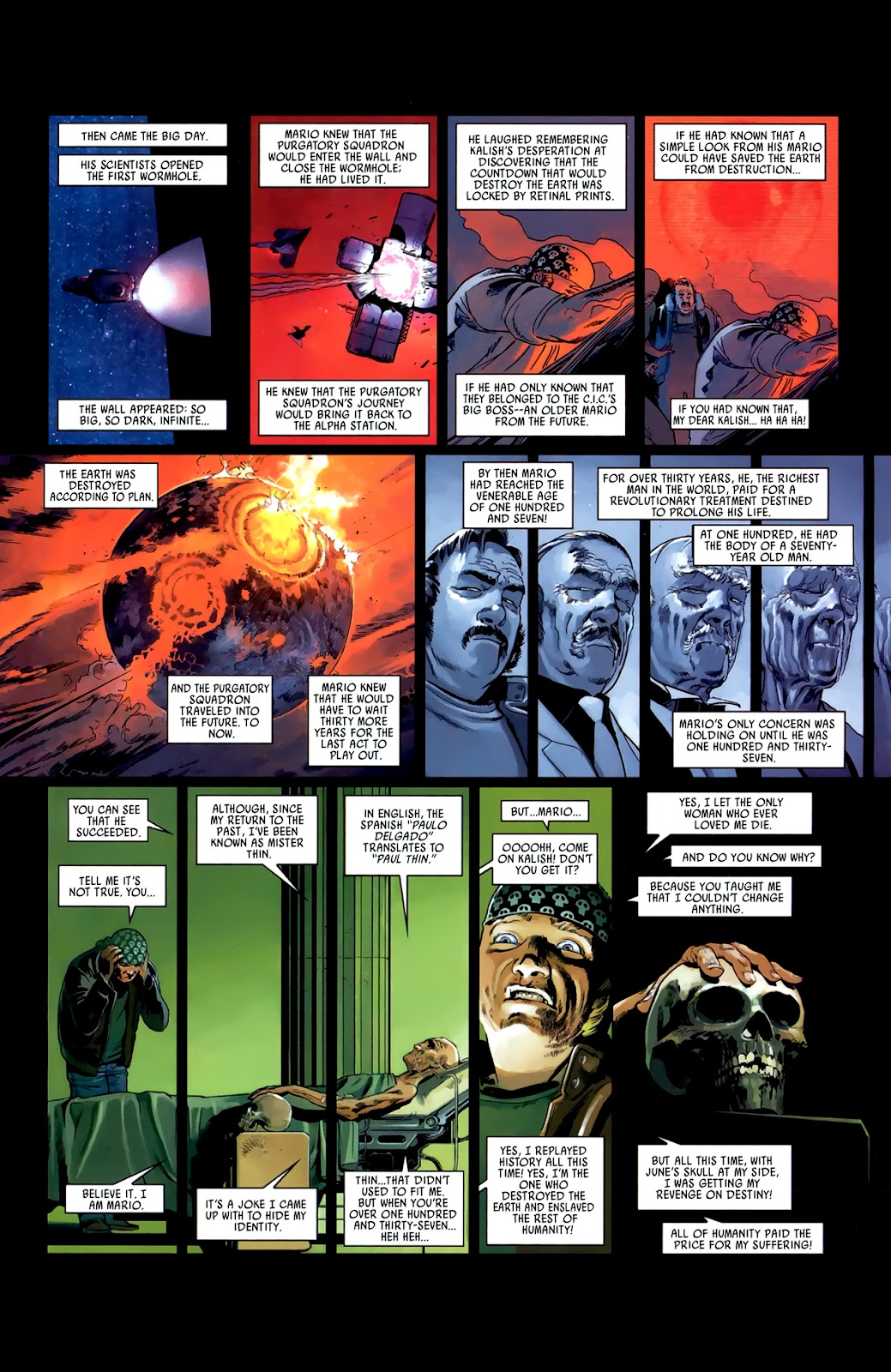 Read online Universal War One: Revelations comic -  Issue #3 - 35
