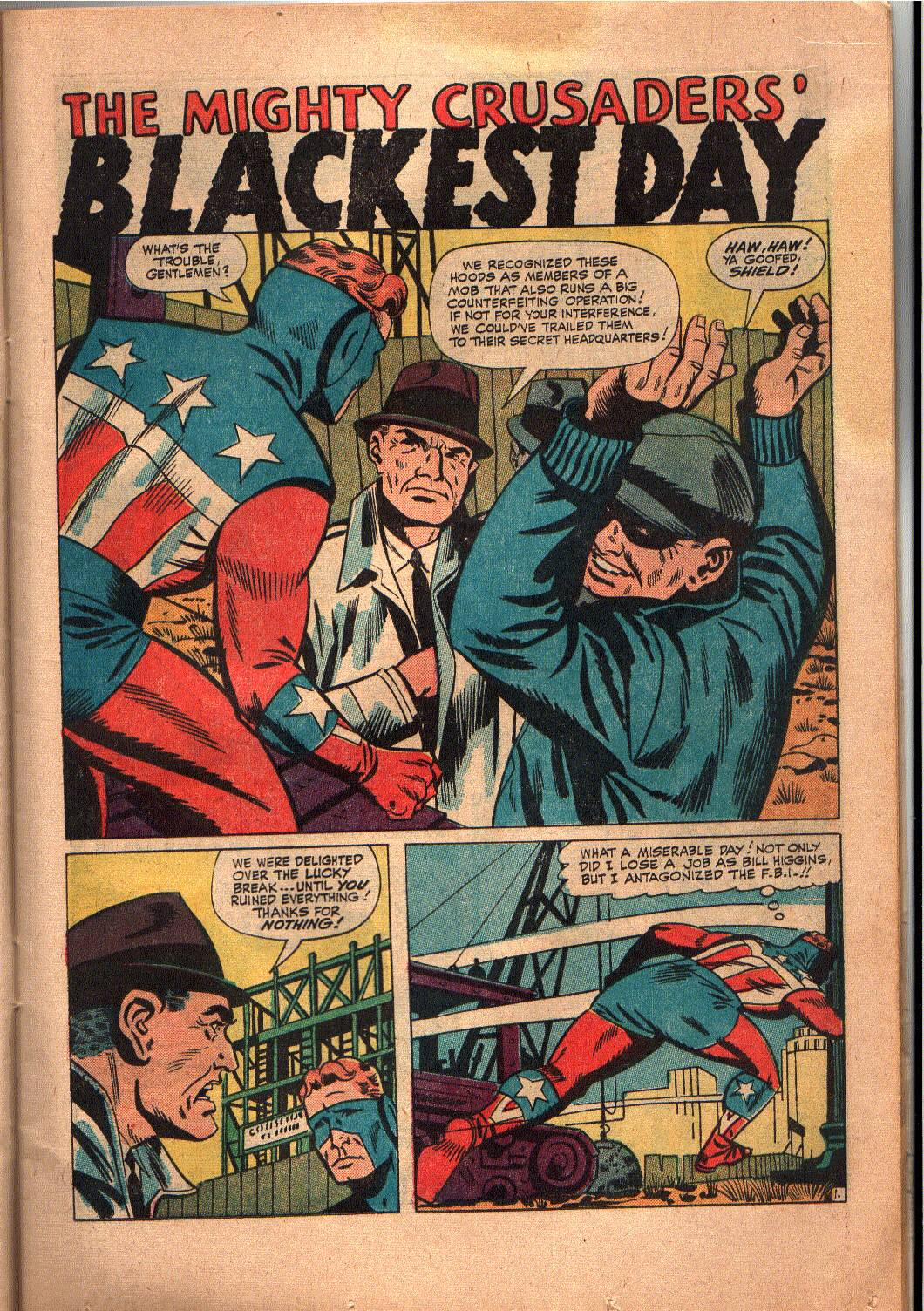 The Mighty Crusaders (1965) Issue #6 #6 - English 10