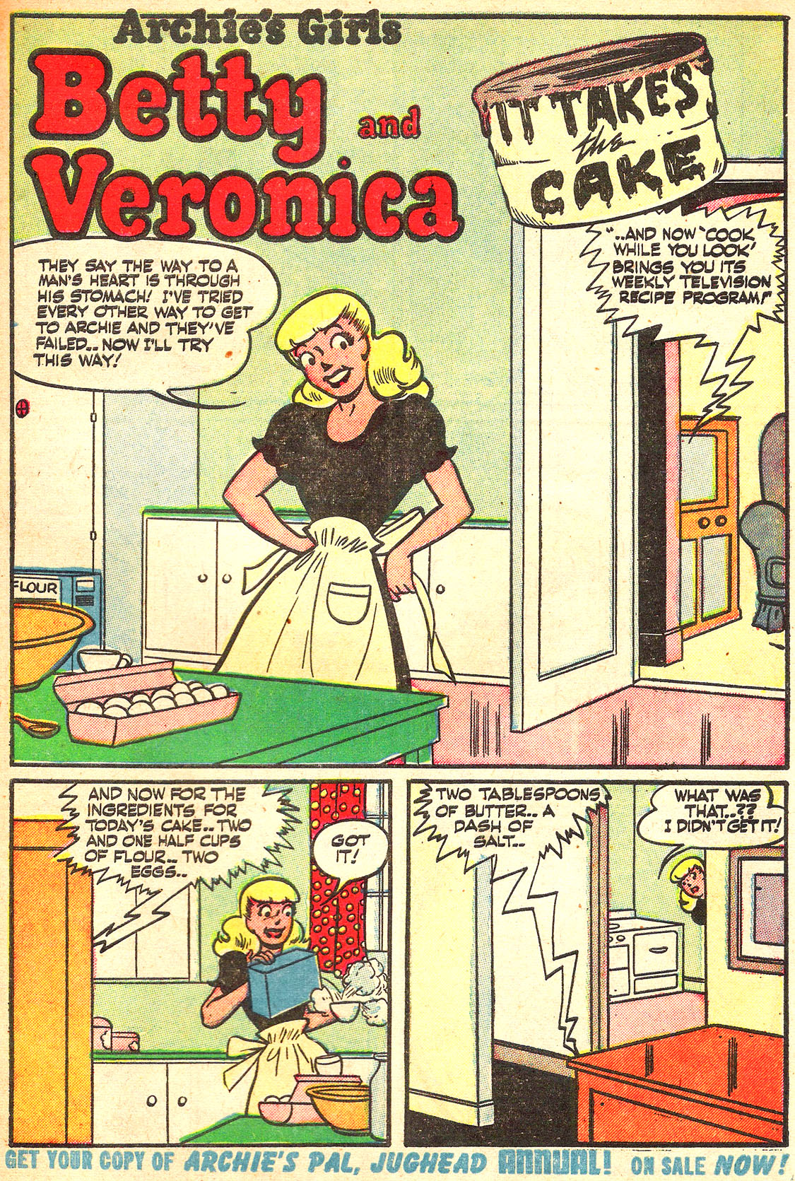 Read online Archie's Girls Betty and Veronica comic -  Issue #Archie's Girls Betty and Veronica Annual 1 - 93