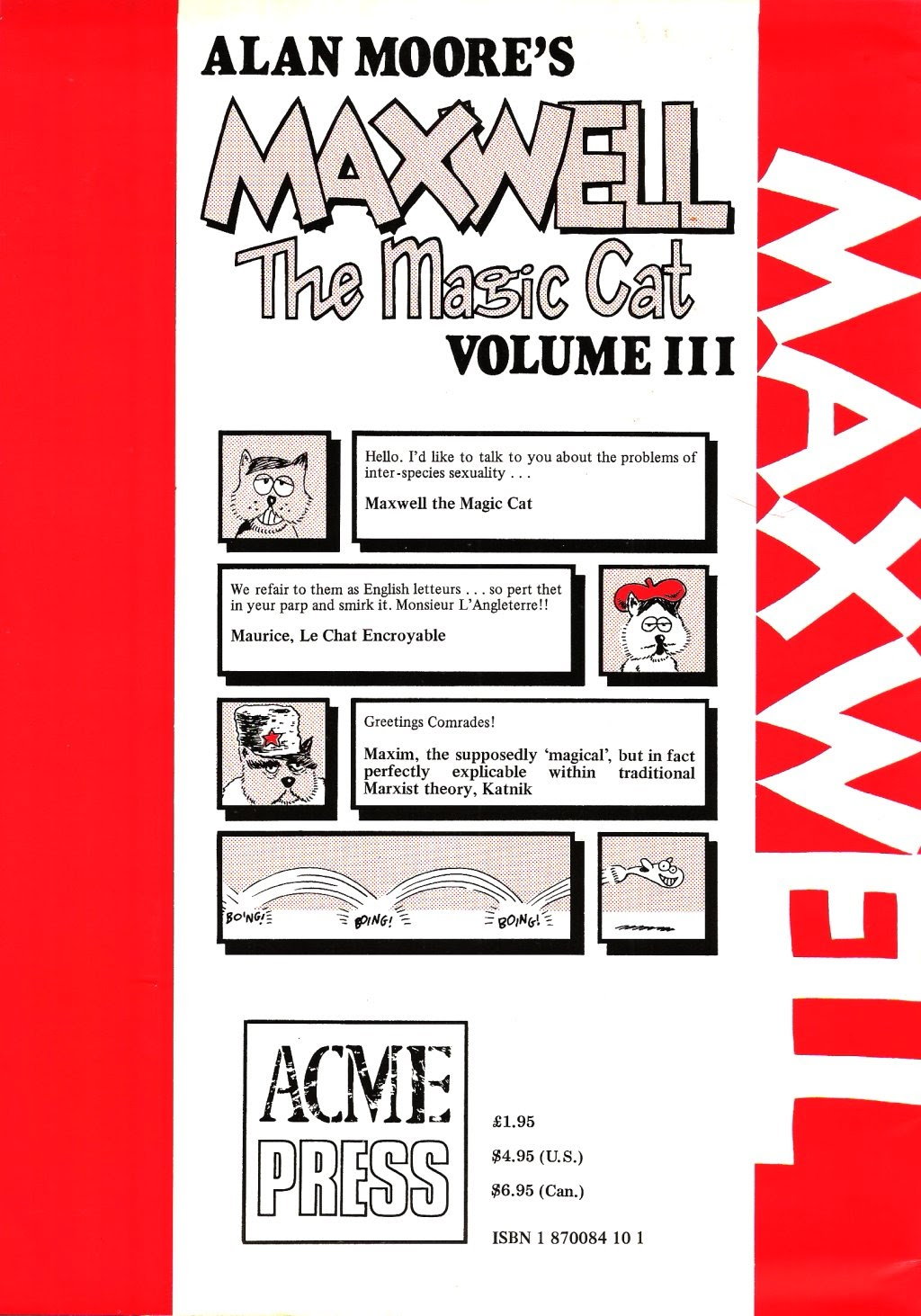 Read online Alan Moore's Maxwell the Magic Cat comic -  Issue #3 - 35