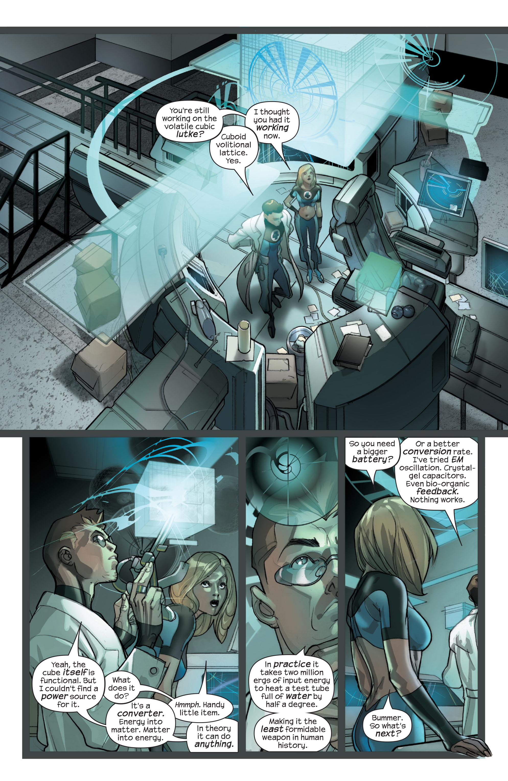 Read online Ultimate Fantastic Four (2004) comic -  Issue #42 - 7