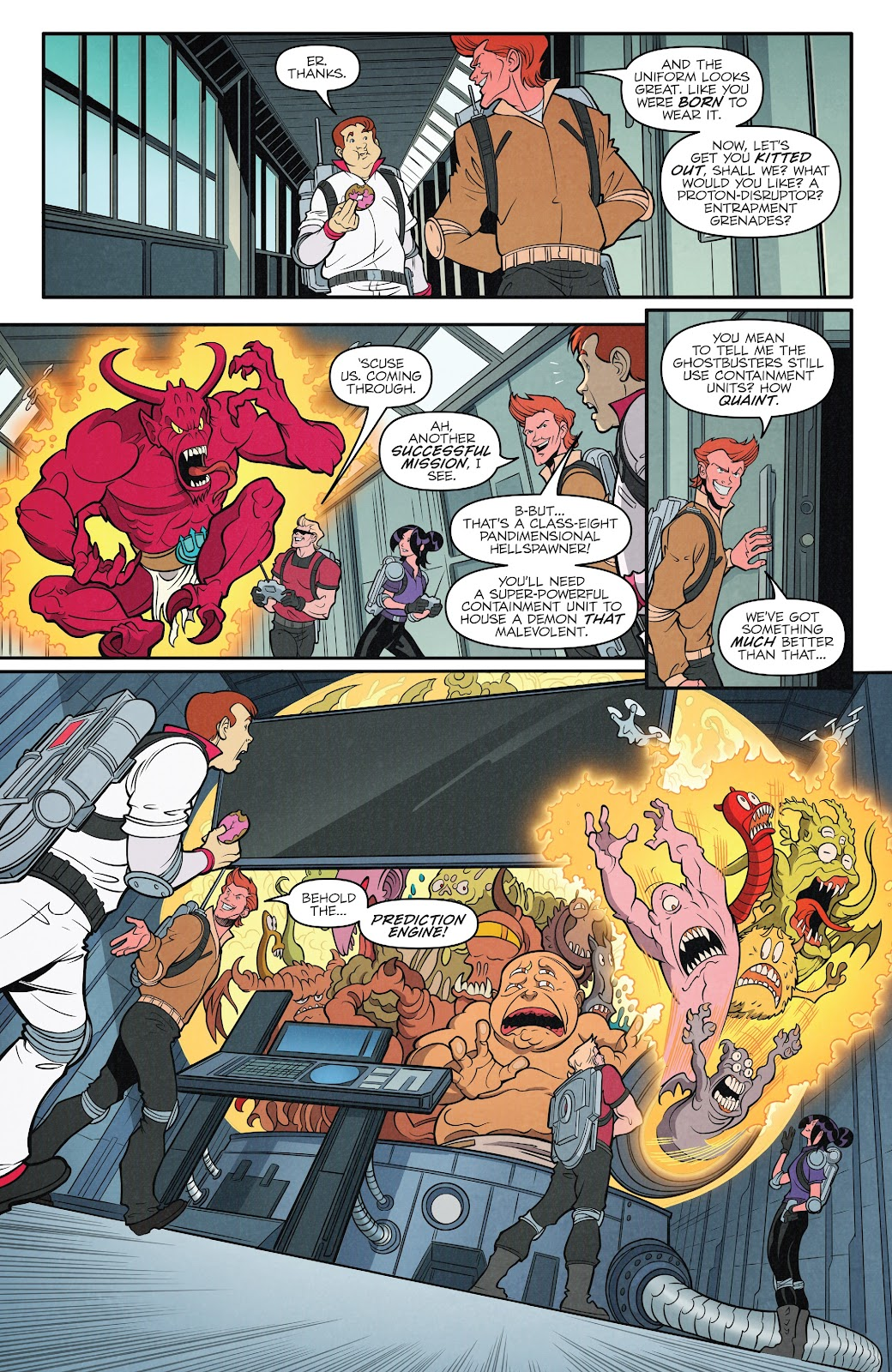 Read online Ghostbusters 35th Anniversary: The Real Ghostbusters comic -  Issue # Full - 17