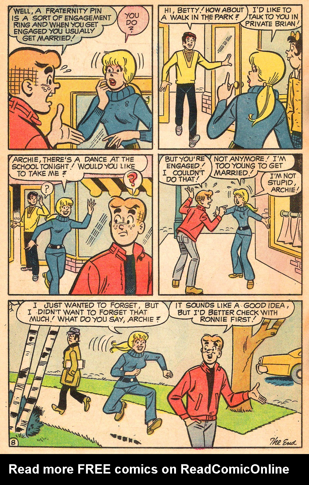 Read online Archie's Girls Betty and Veronica comic -  Issue #185 - 18