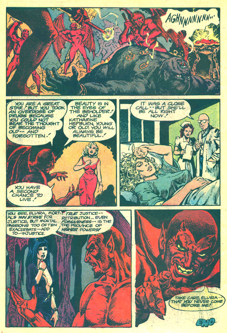 Elvira's House of Mystery Issue #3 #4 - English 23