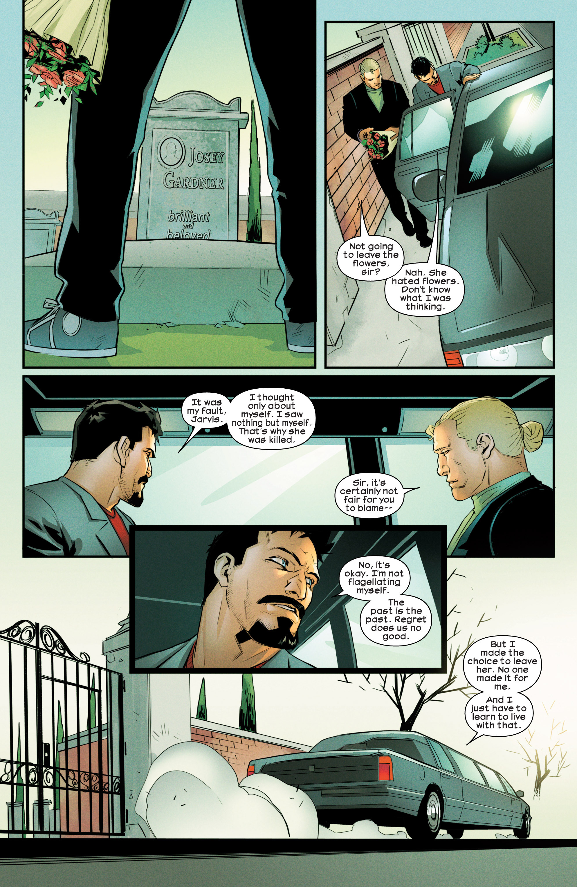 Read online Ultimate Comics Iron Man comic -  Issue #4 - 20