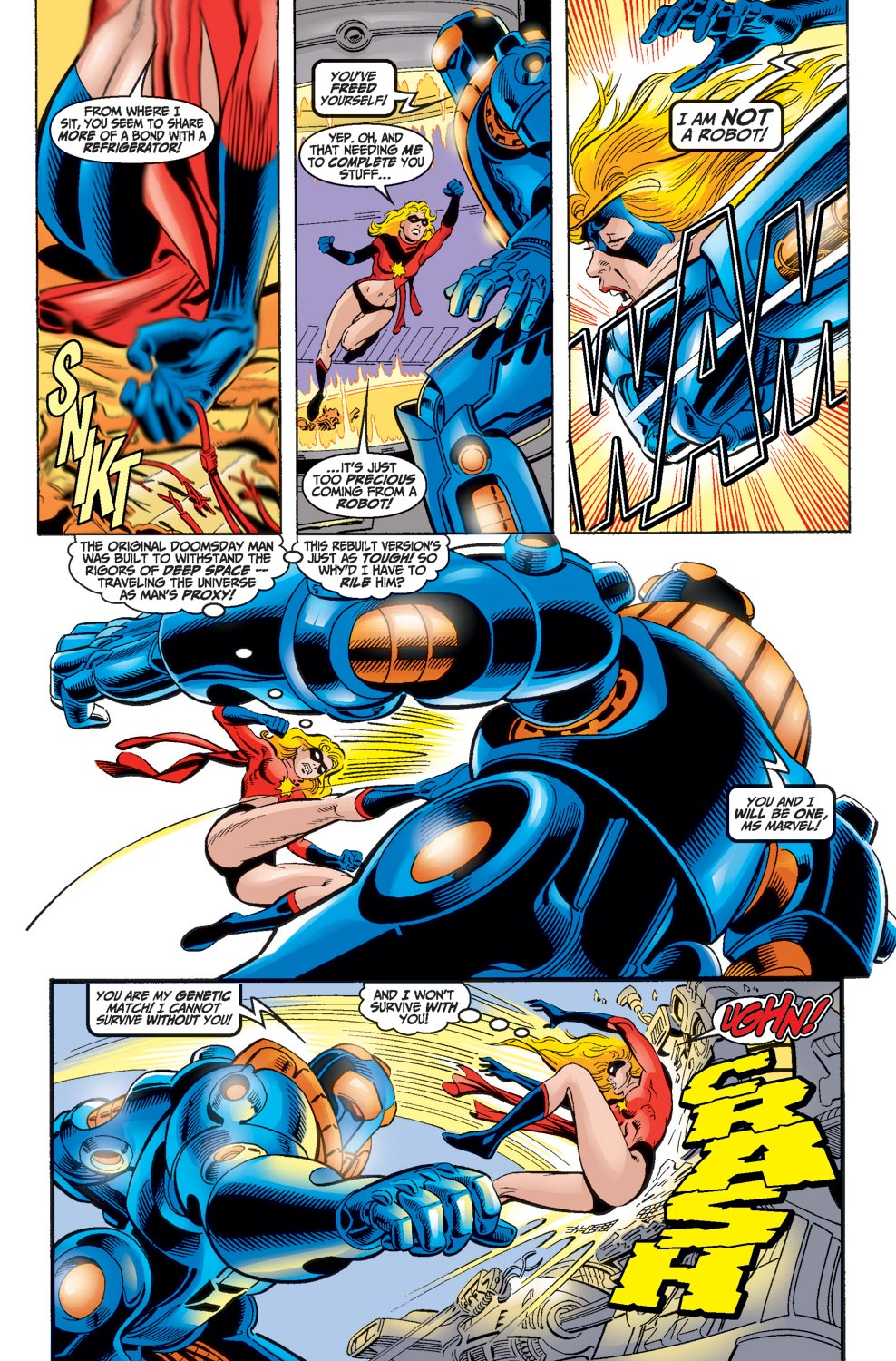 Read online Avengers (1998) comic -  Issue #17 - 8