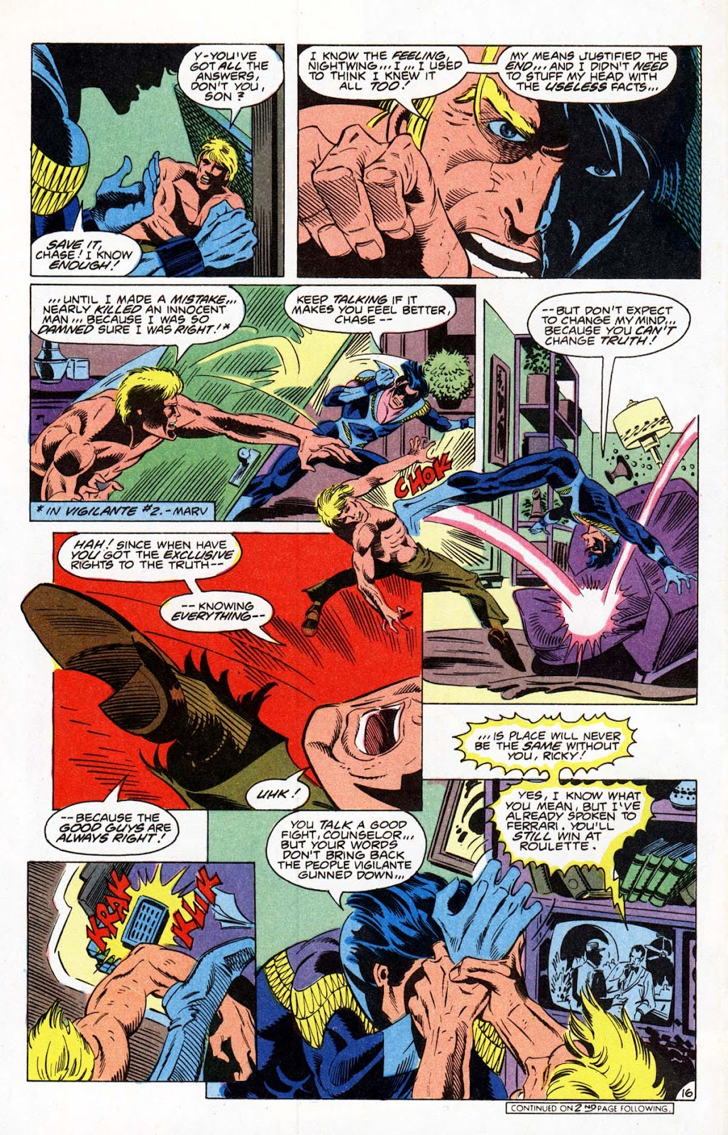 Vigilante (1983) issue 21 - Page 19