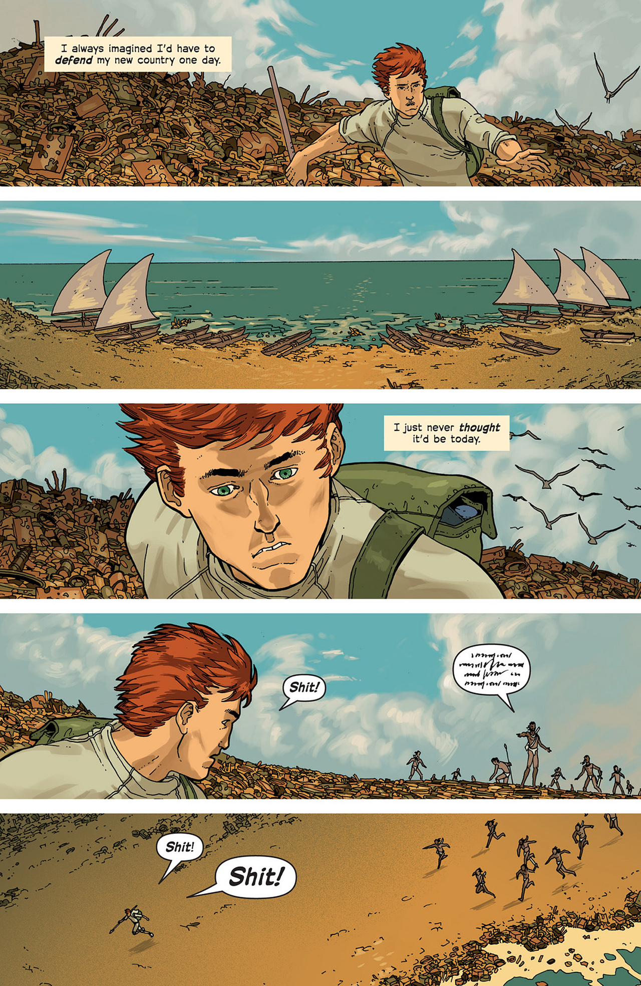 Read online Great Pacific comic -  Issue #2 - 18