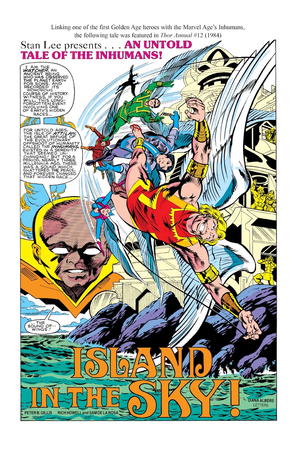 Read online Marvel Masterworks: The Inhumans comic -  Issue # TPB 2 (Part 3) - 97