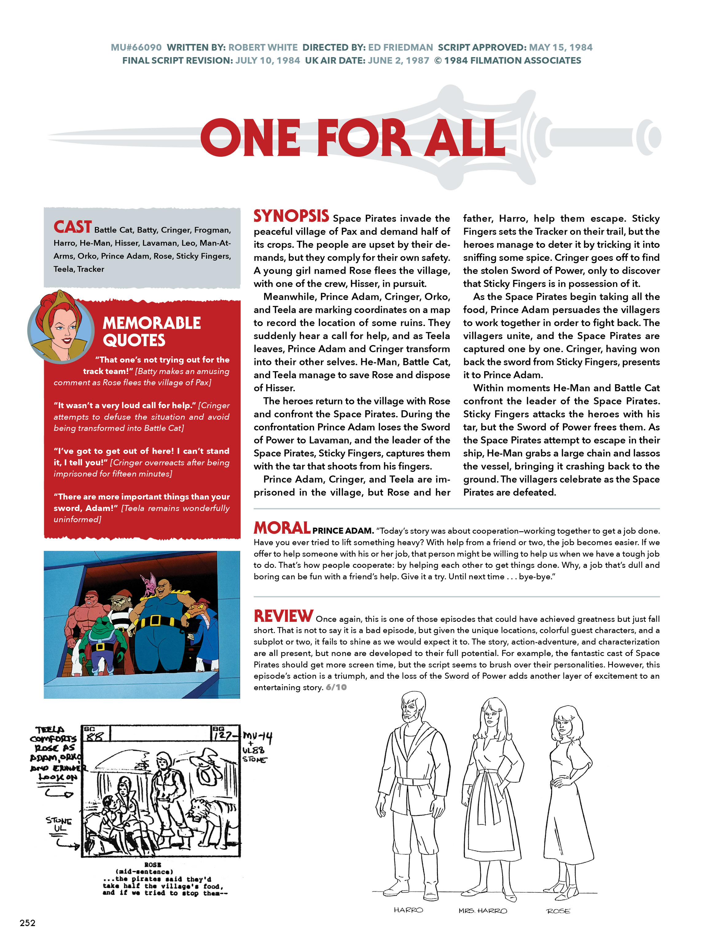 Read online He-Man and She-Ra: A Complete Guide to the Classic Animated Adventures comic -  Issue # TPB (Part 2) - 53