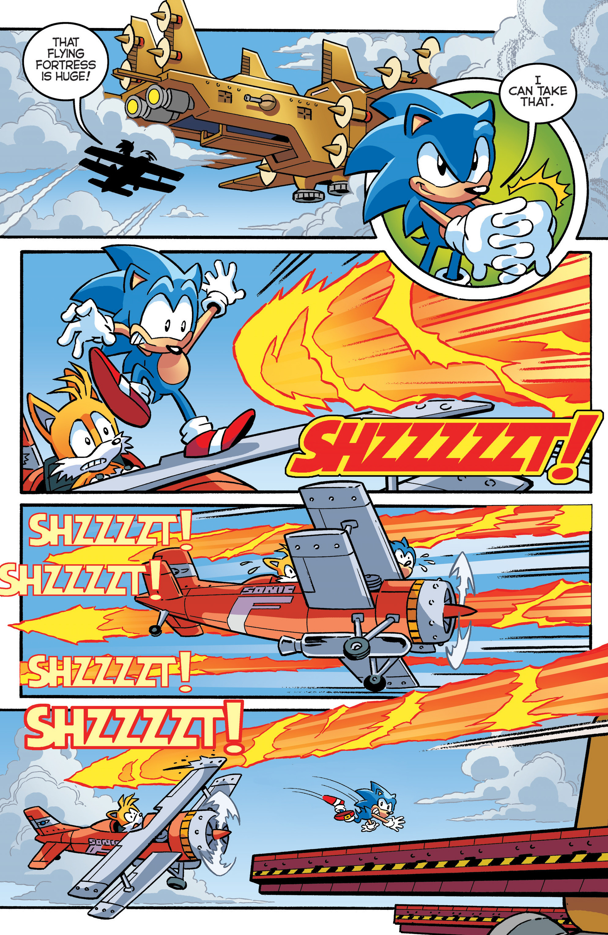 Read online Sonic The Hedgehog comic -  Issue #289 - 5