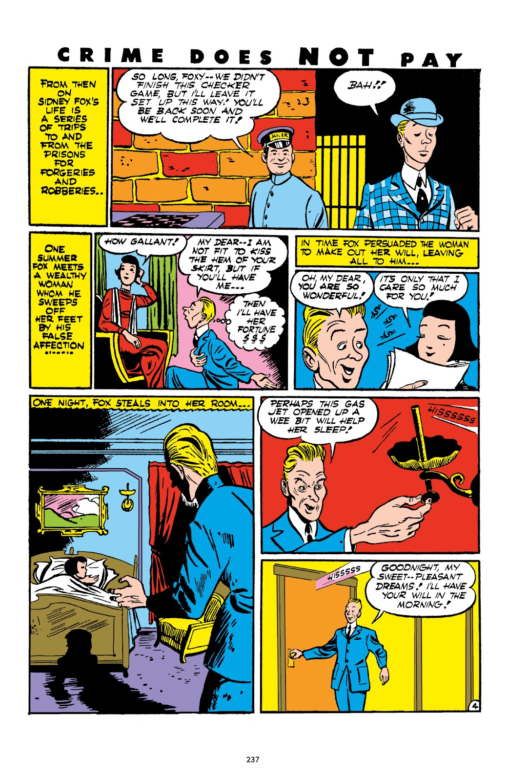 Read online Crime Does Not Pay Archives comic -  Issue # TPB 1 (Part 3) - 40