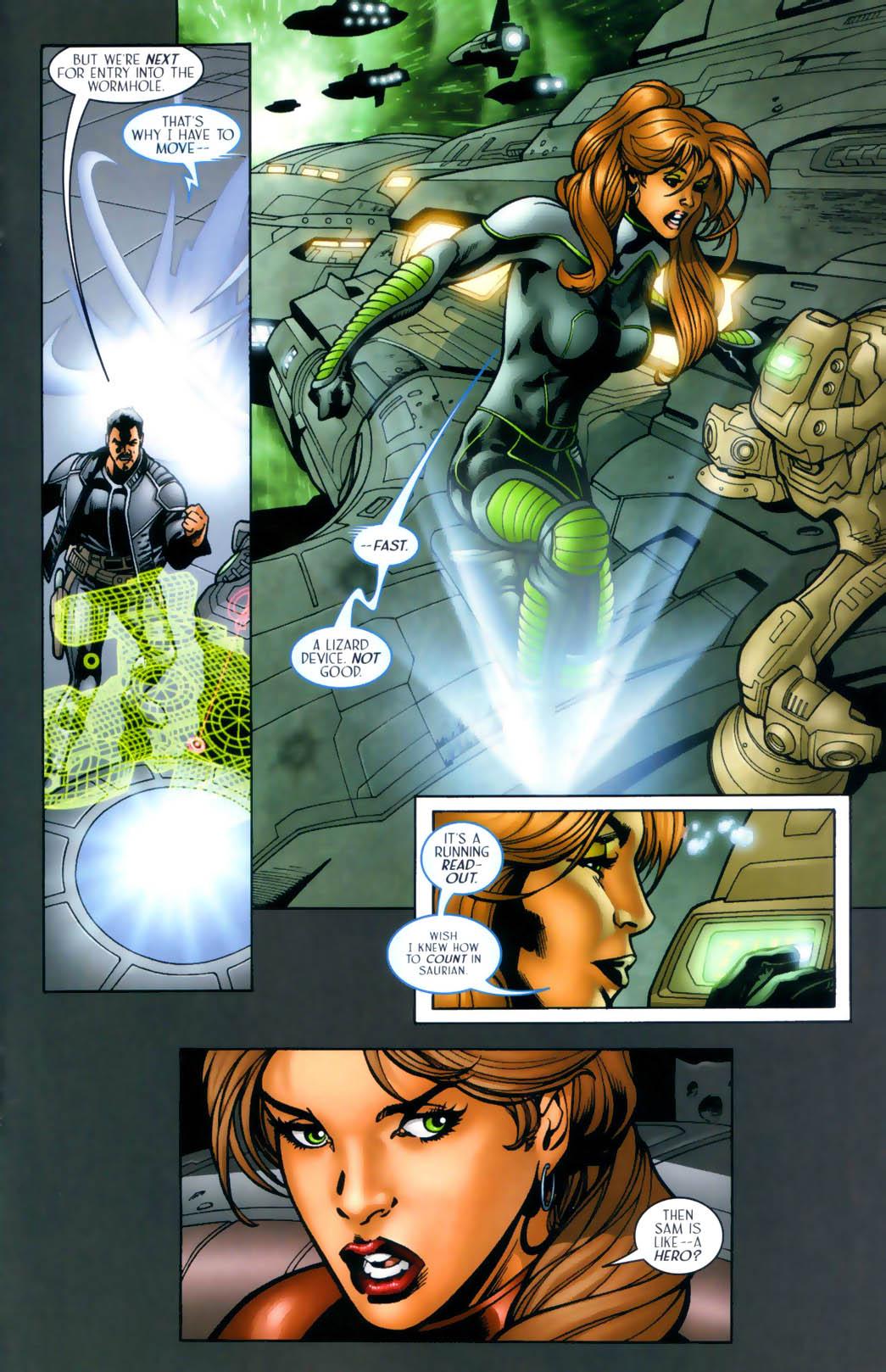 Read online Sigil (2000) comic -  Issue #30 - 16