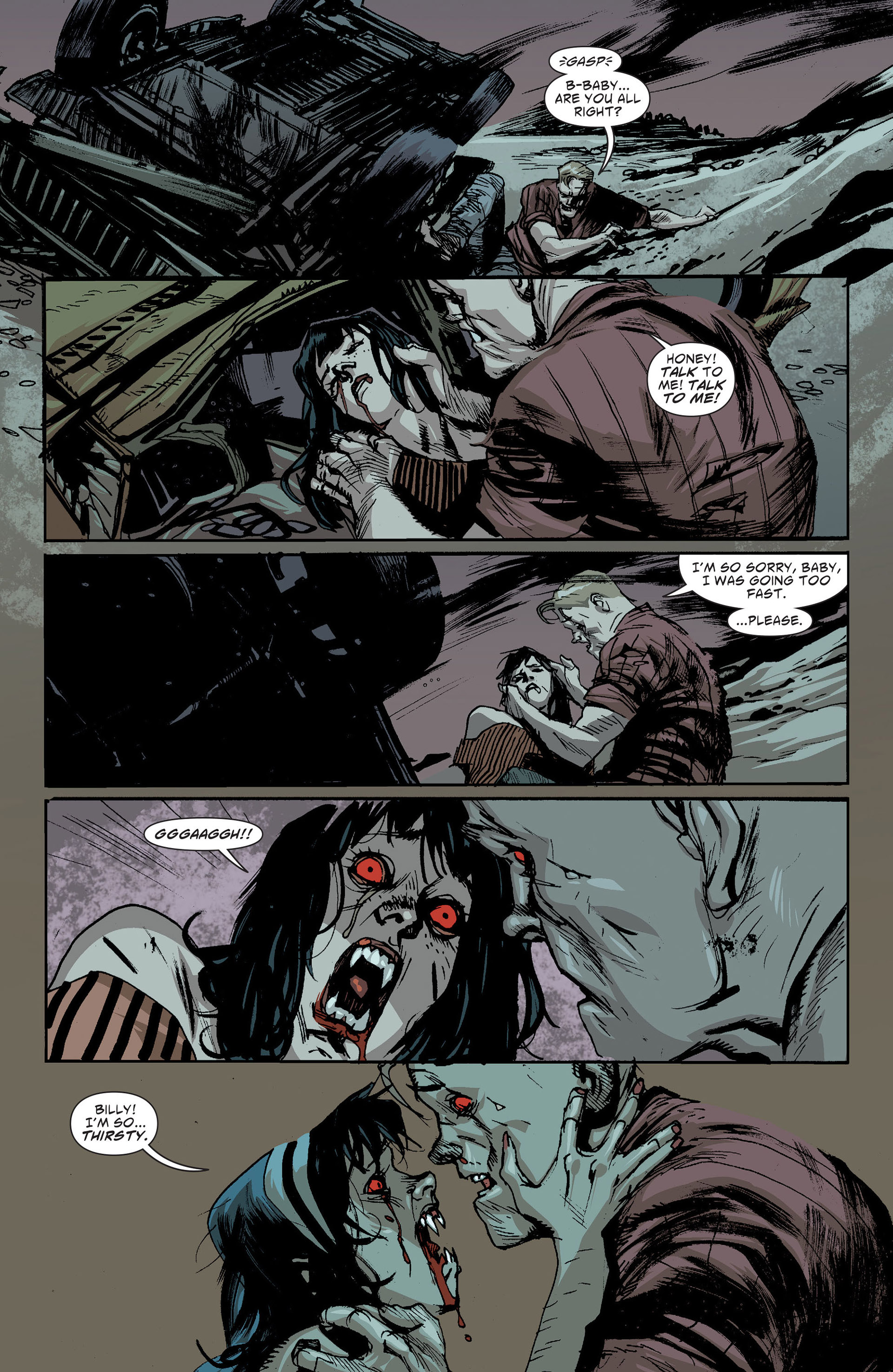 Read online American Vampire: The Long Road To Hell comic -  Issue # Full - 16