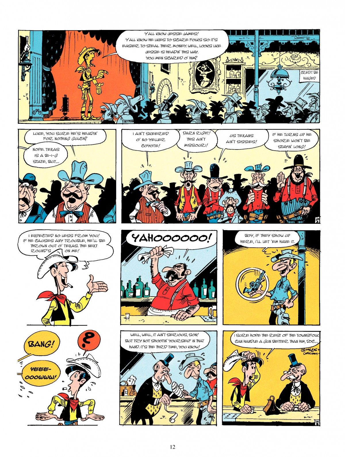 Read online A Lucky Luke Adventure comic -  Issue #4 - 14
