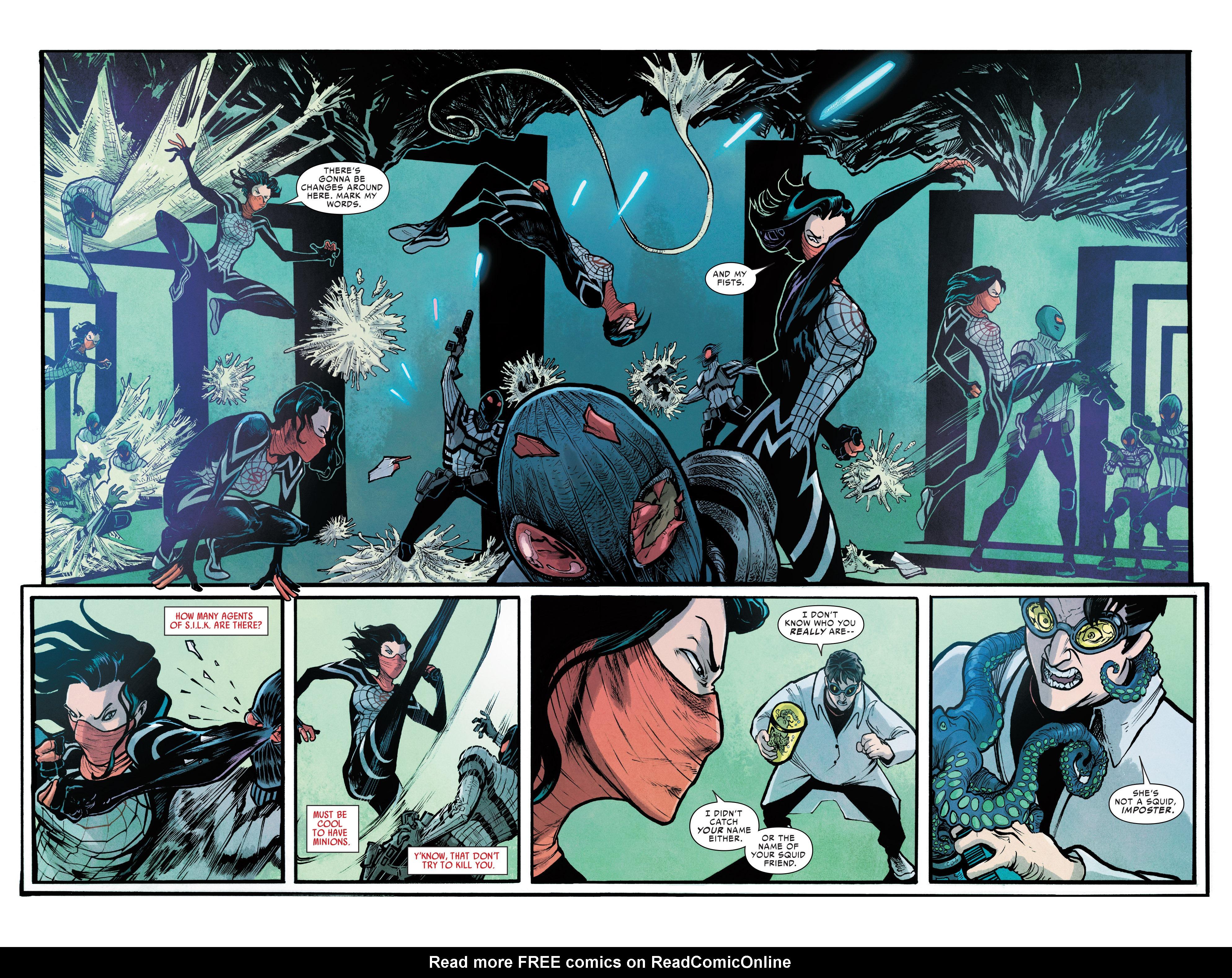 Read online Silk (2016) comic -  Issue #7 - 23