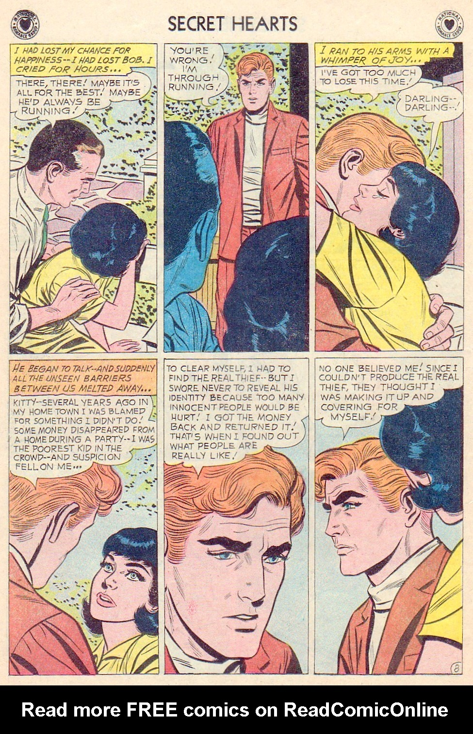 Read online Secret Hearts comic -  Issue #72 - 10