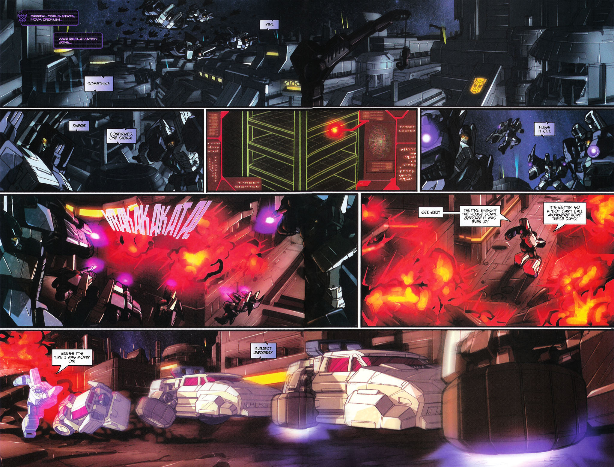 """Read online Transformers War Within: """"The Age of Wrath"""" comic -  Issue #2 - 7"""