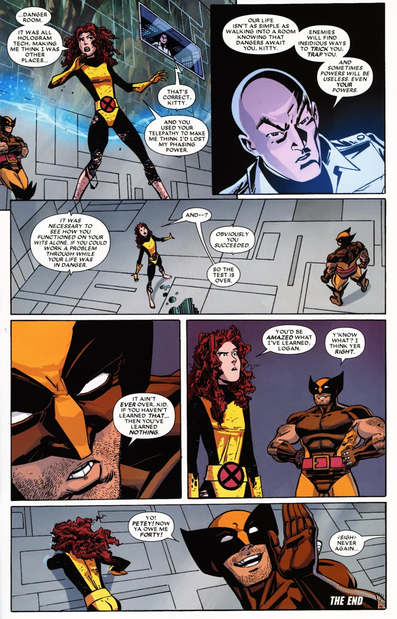 Read online Wolverine: First Class comic -  Issue #21 - 23