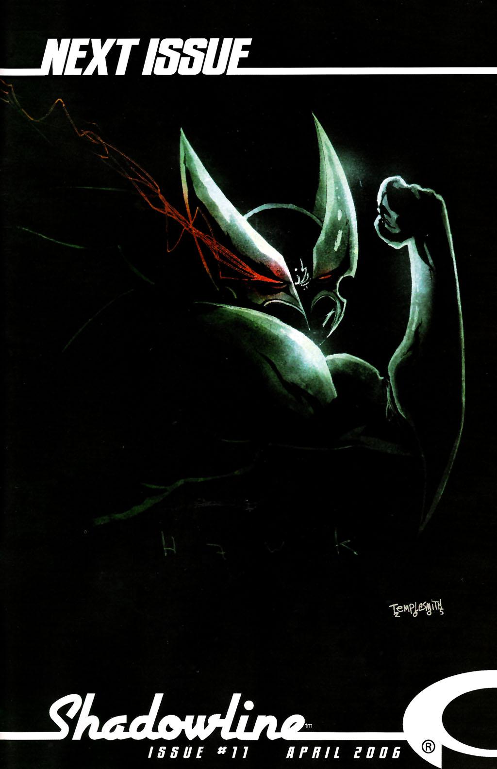 Read online ShadowHawk (2005) comic -  Issue #10 - 25