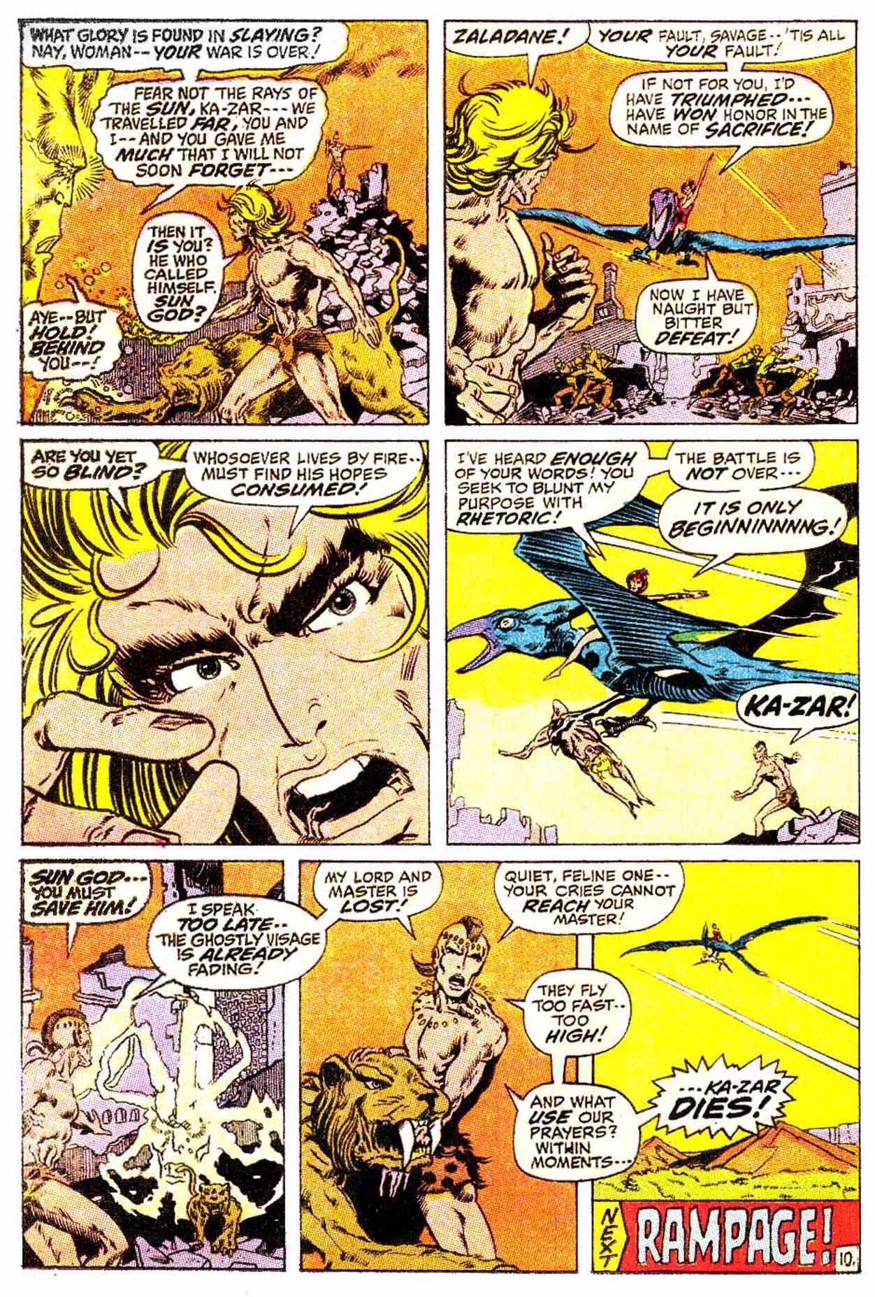 Read online Astonishing Tales (1970) comic -  Issue #4 - 21