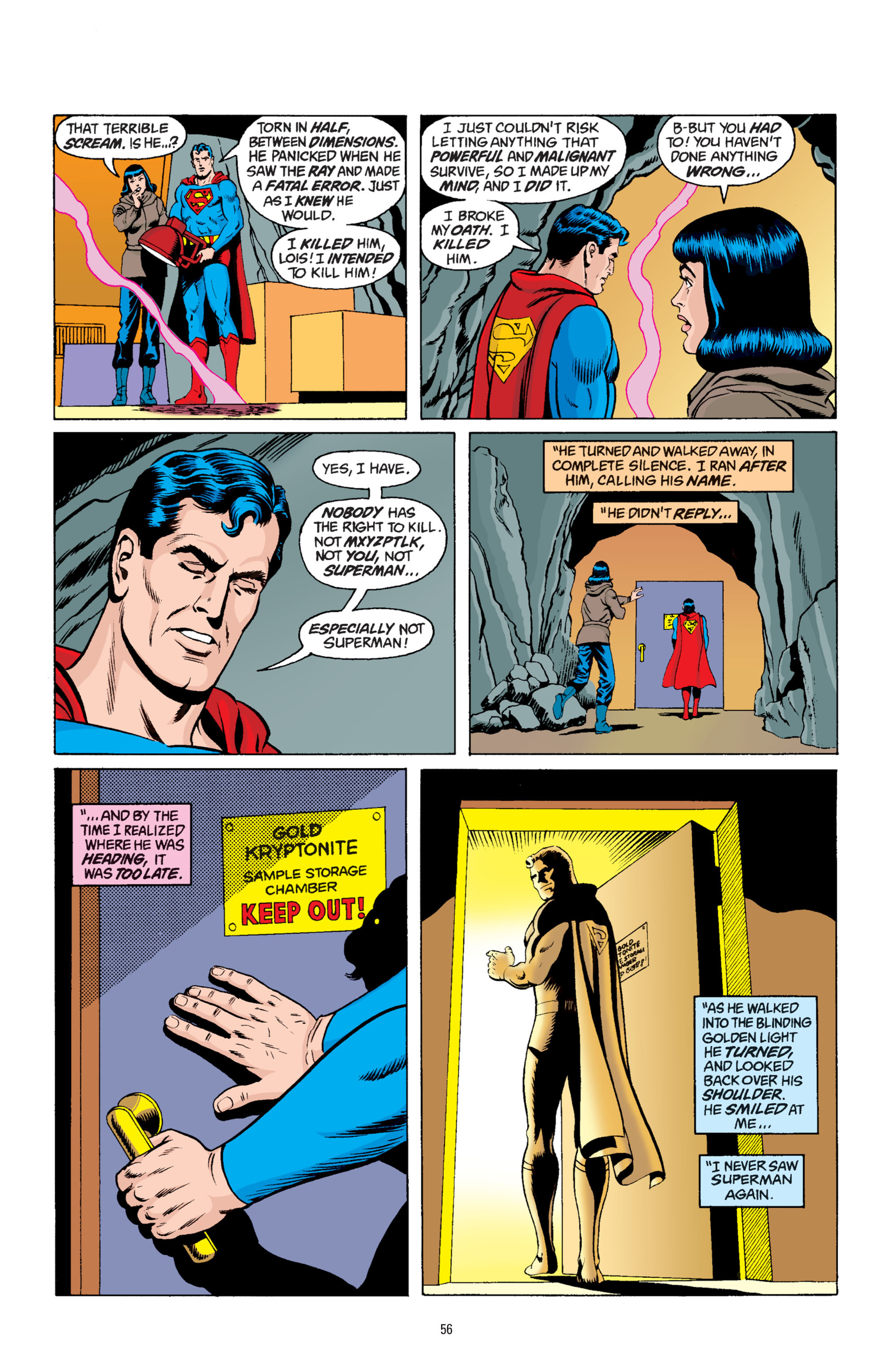 Read online Superman: Whatever Happened to the Man of Tomorrow? comic -  Issue # TPB - 55
