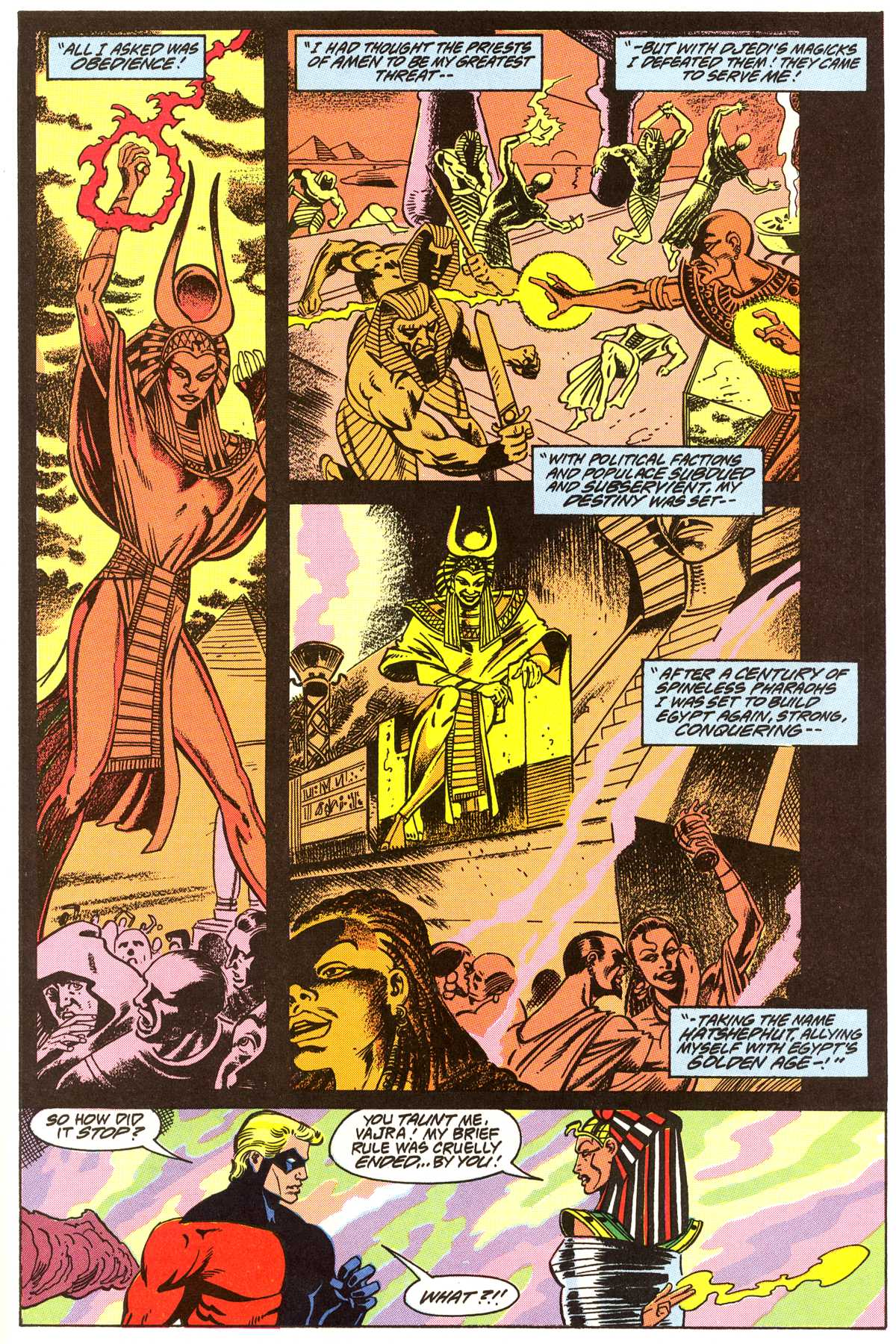 Read online Peter Cannon--Thunderbolt (1992) comic -  Issue #4 - 12