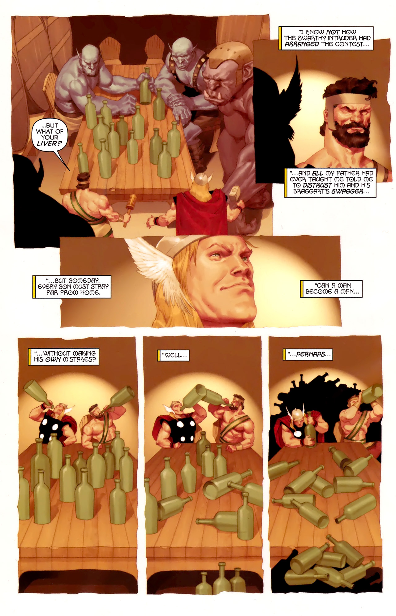 Read online Hercules: Fall of an Avenger comic -  Issue #1 - 11