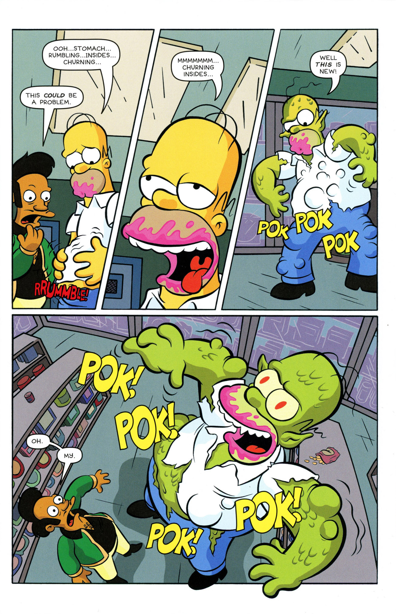 Read online Treehouse of Horror comic -  Issue #21 - 13