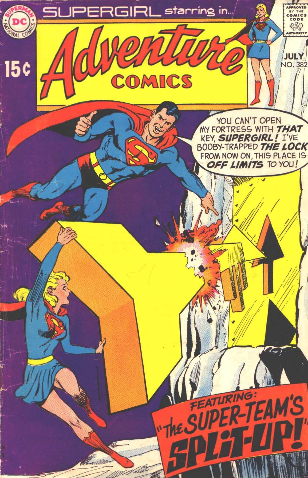 Adventure Comics (1938) 382 Page 1